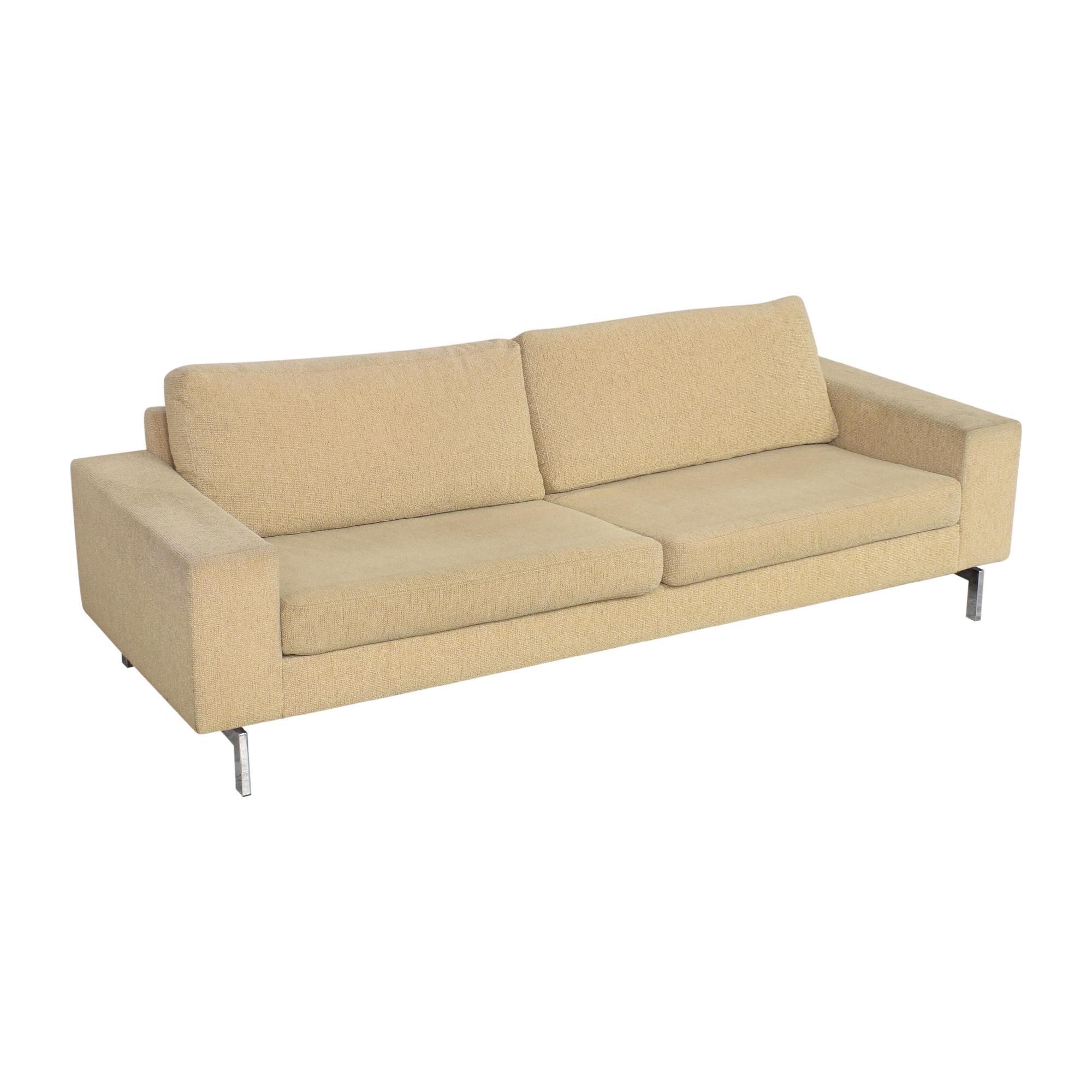 Modern Two Cushion Sofa Sofas