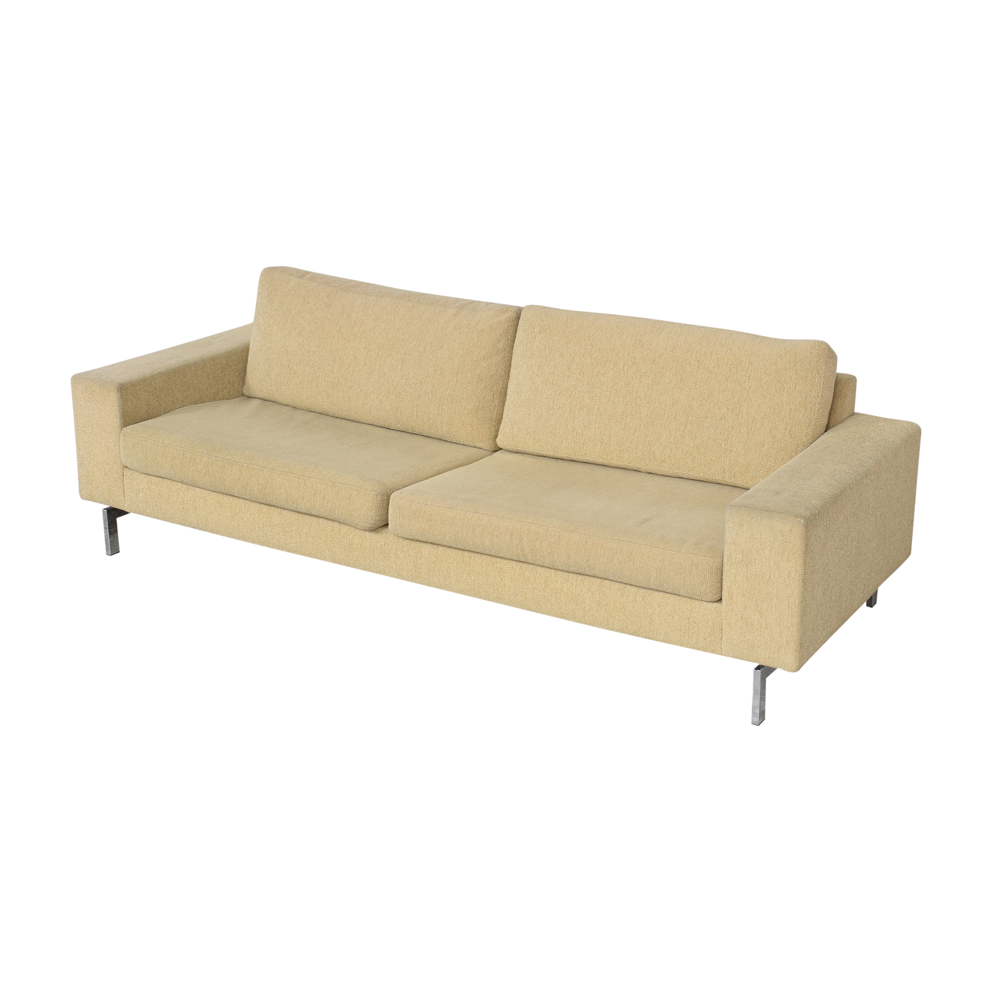 Modern Two Cushion Sofa / Sofas