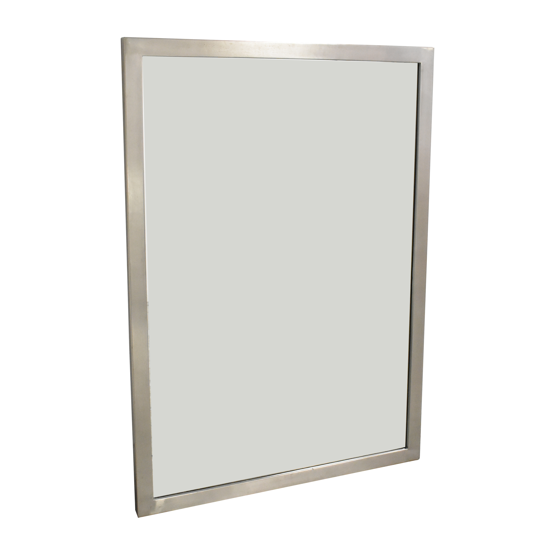 Restoration Hardware Framed Mirror / Decor