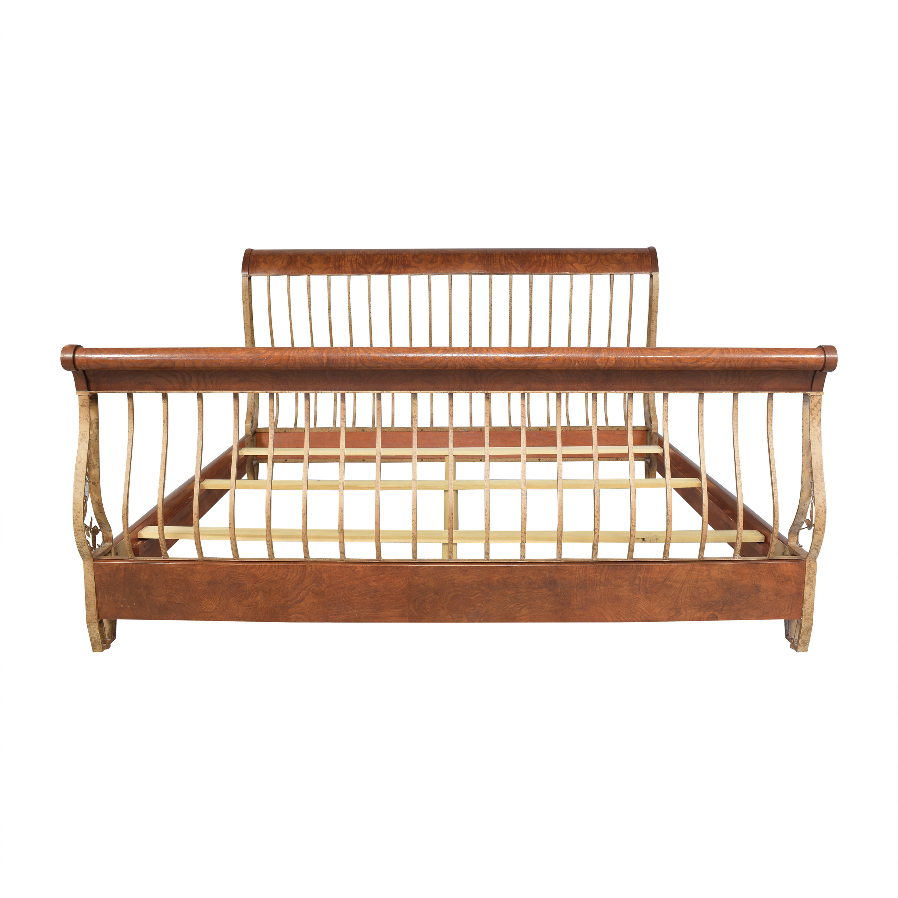 Hickory White Hickory White Openwork King Sleigh Bed discount