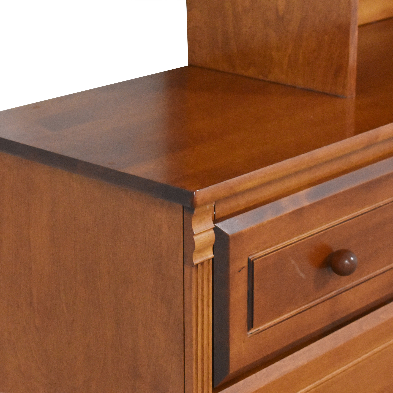 shop Bellini Double Dresser with Hutch Bellini