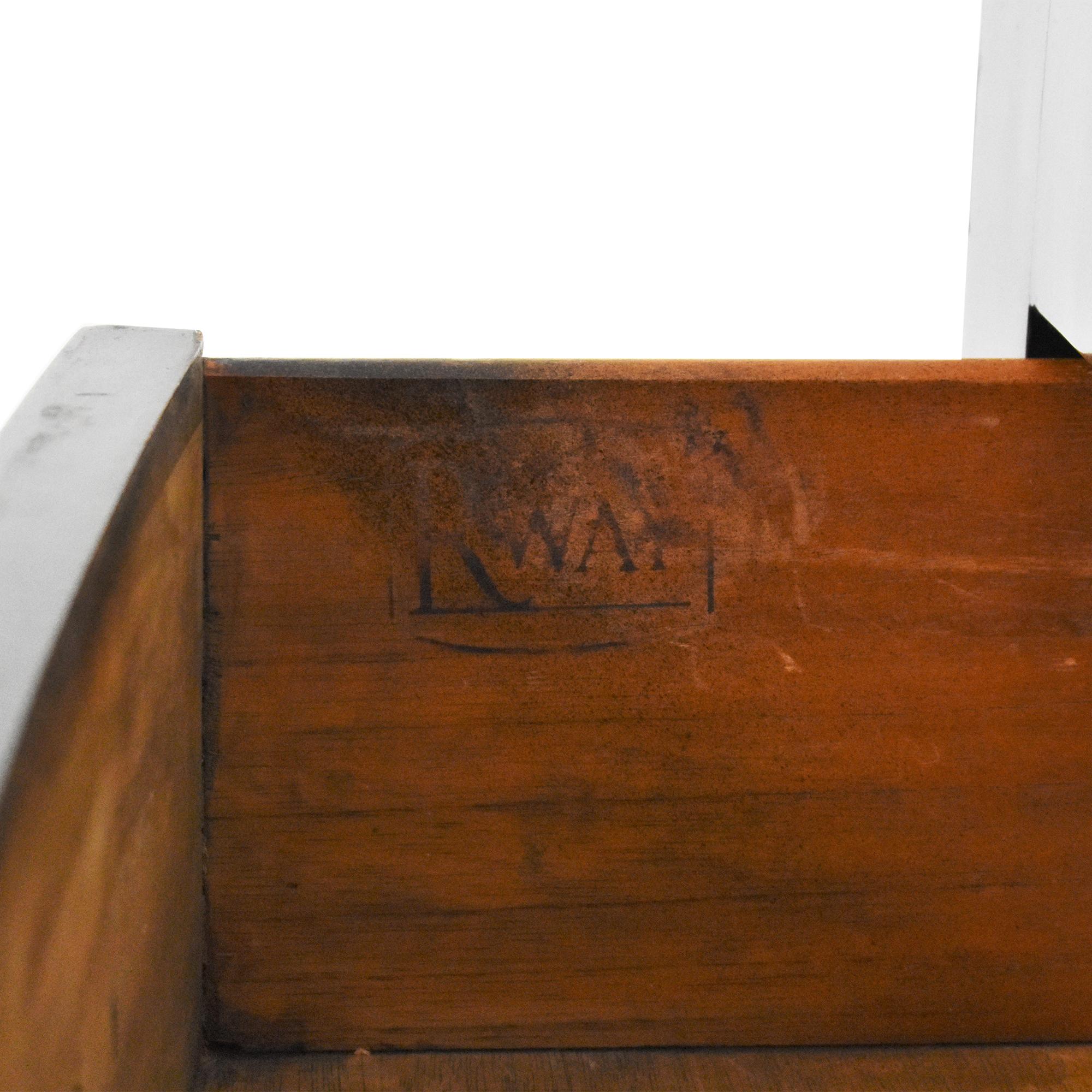 buy RWAY Art Deco Five Drawer Dresser RWAY