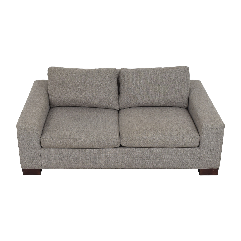 Crate & Barrel Crate & Barrel Two Cushion Sofa second hand