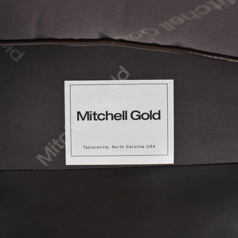 Mitchell Gold + Bob Williams Mitchell Gold Ellis Lounge Chair dark brown
