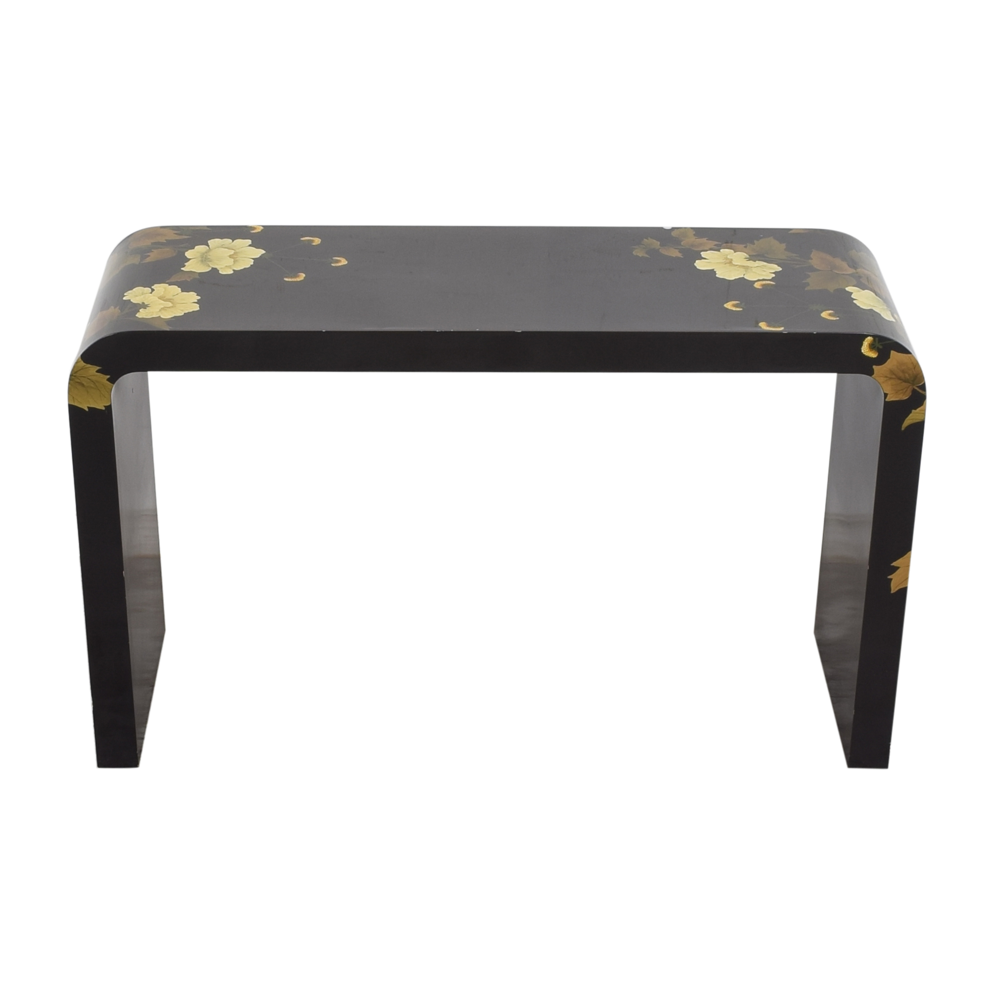 buy Decorative Floral Waterfall Console Table
