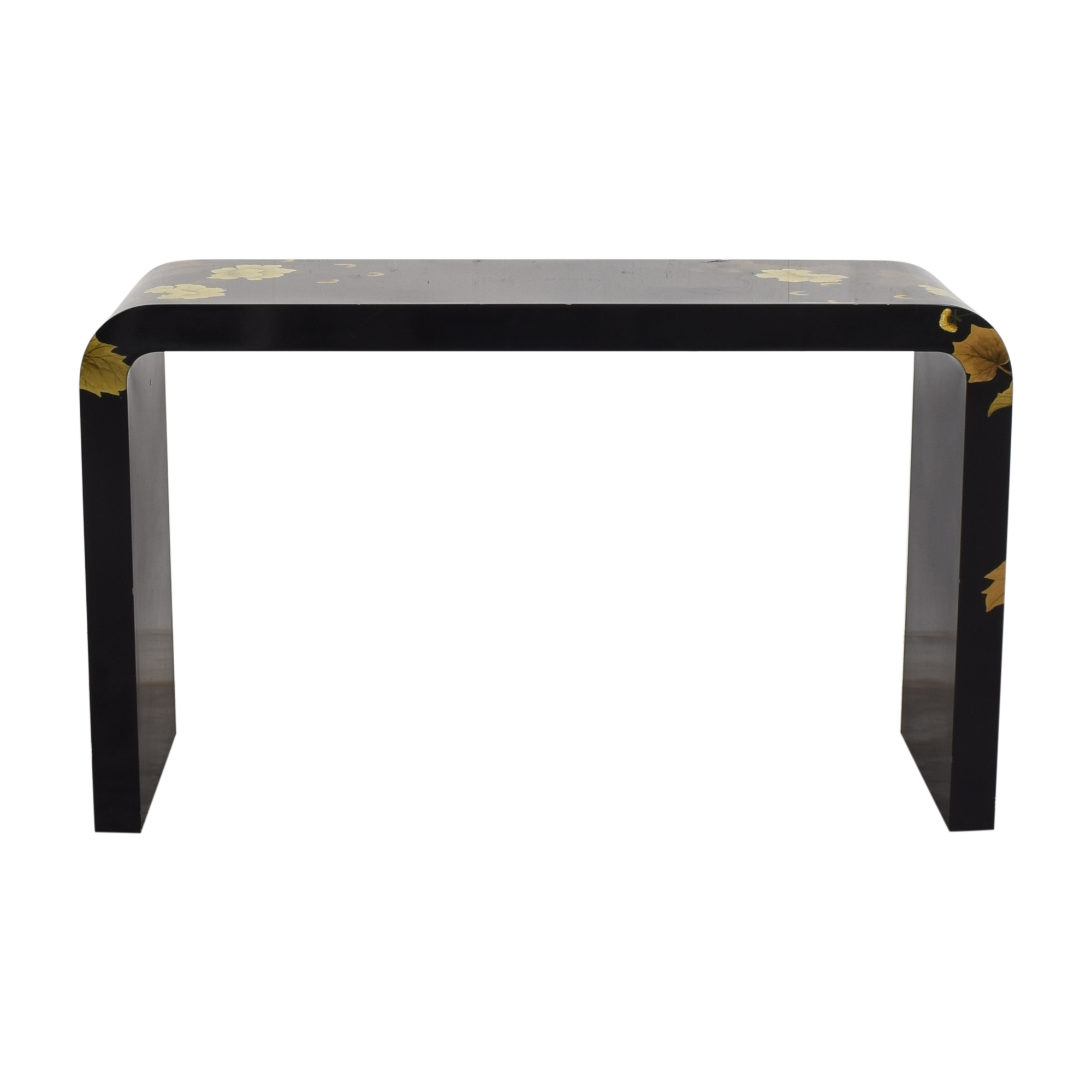 Decorative Floral Waterfall Console Table nyc
