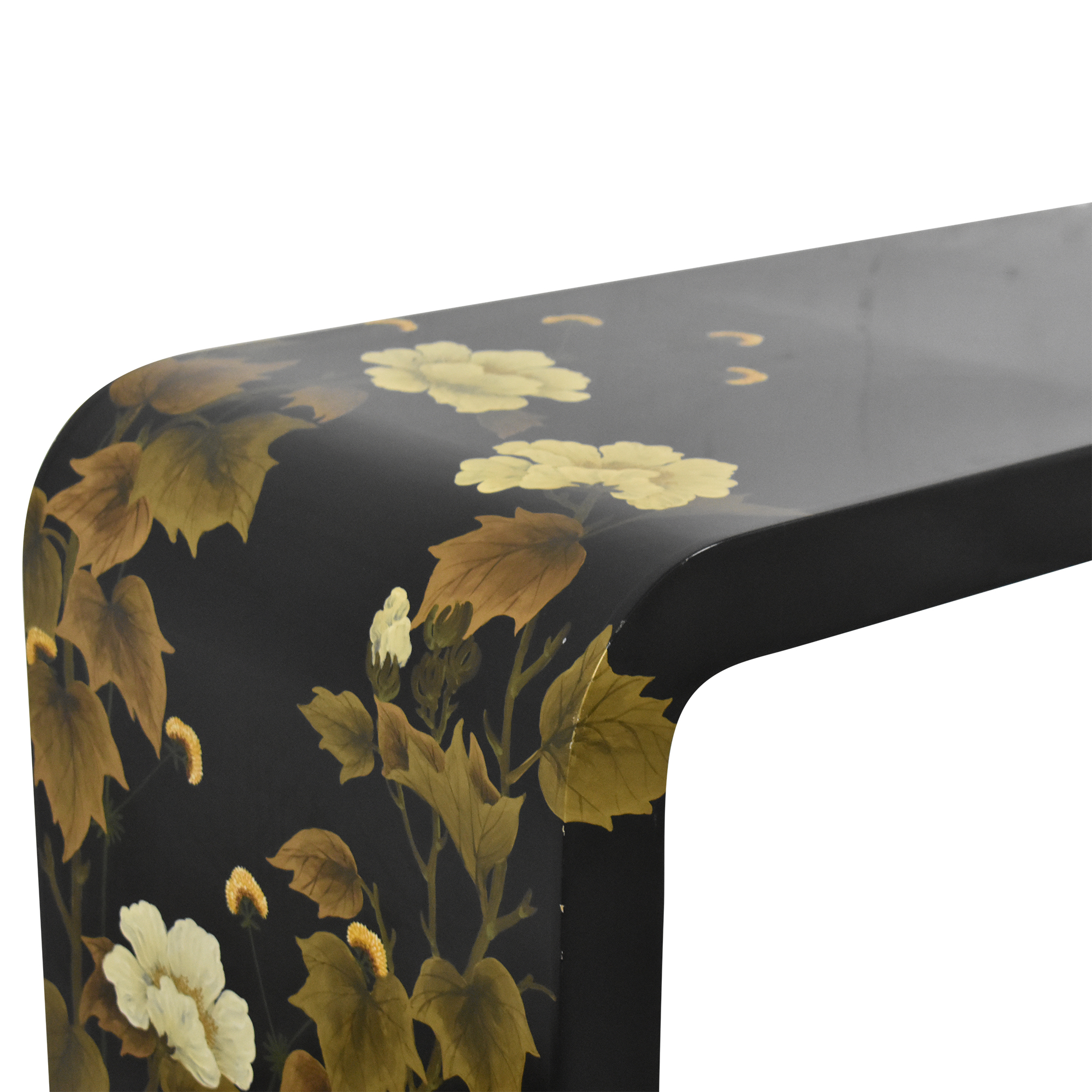 Decorative Floral Waterfall Console Table sale