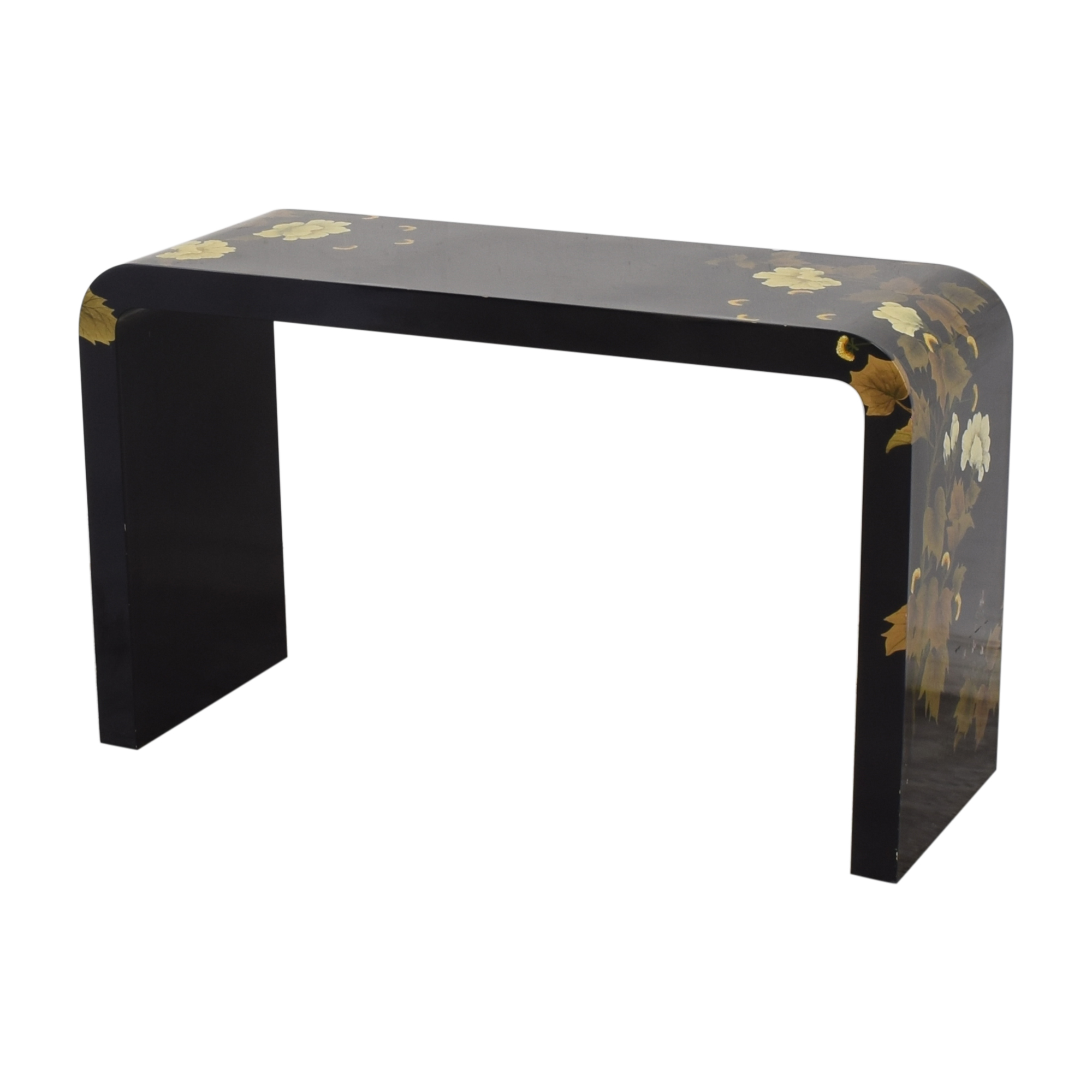 Decorative Floral Waterfall Console Table pa