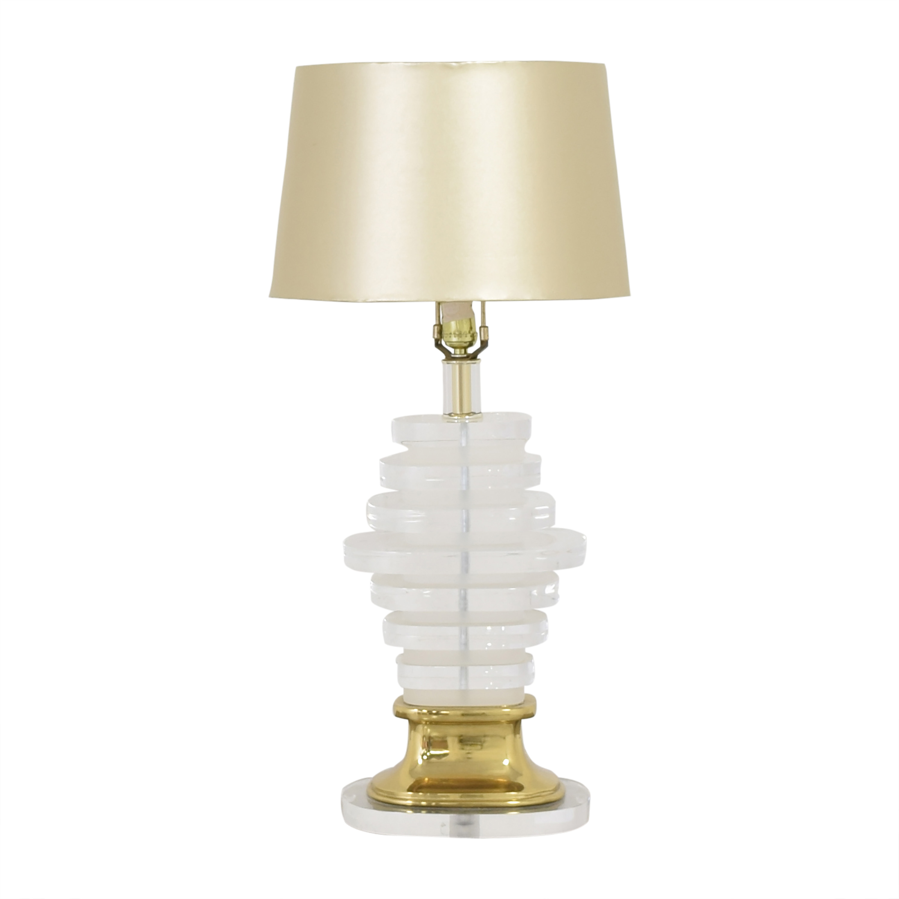 Stacked Table Lamp nyc