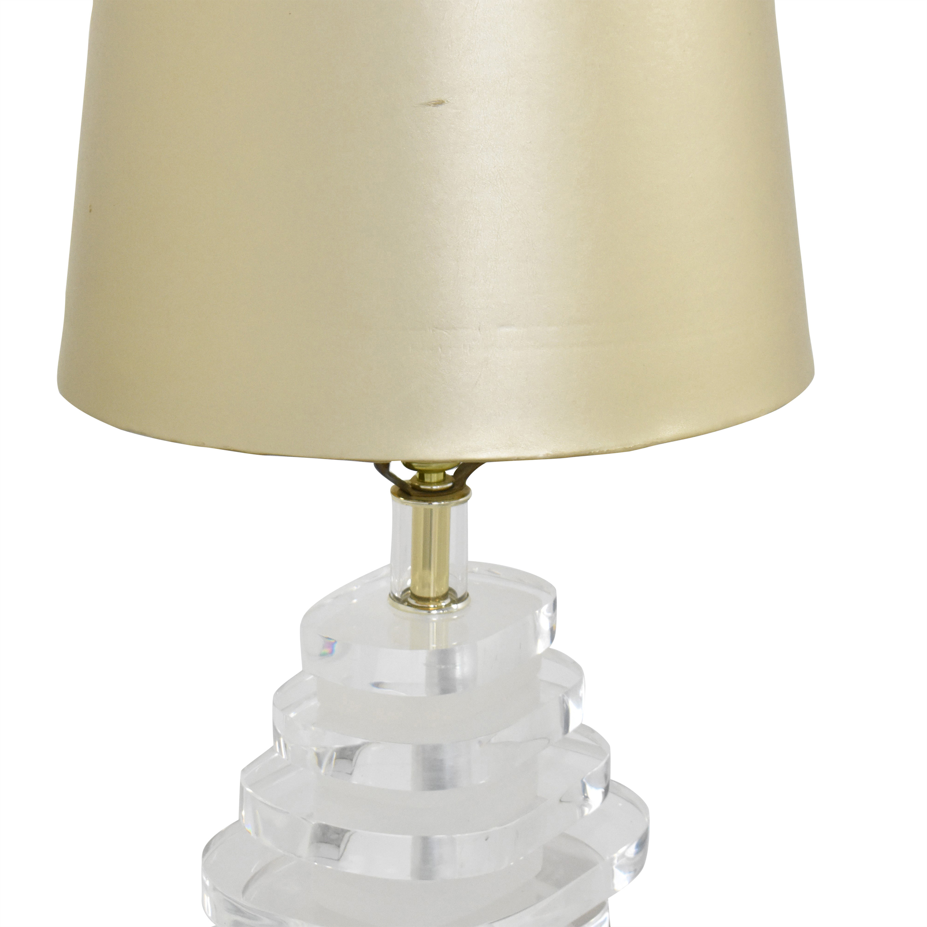 Stacked Table Lamp second hand