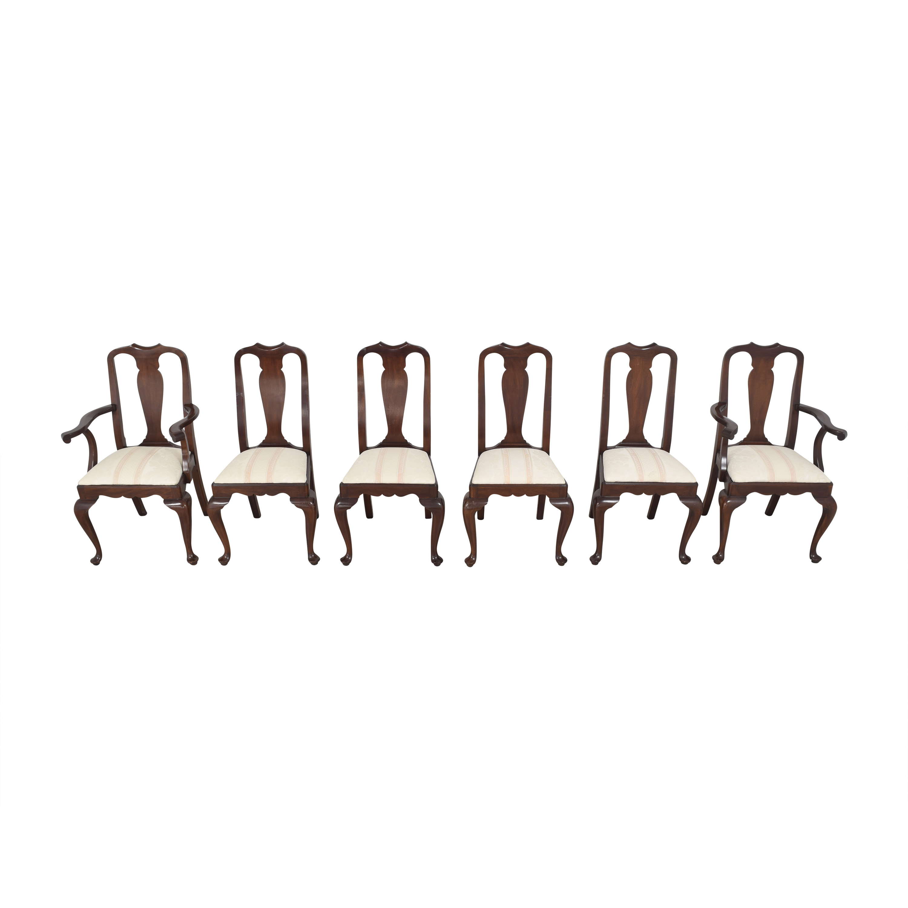 Henkel Harris Queen Anne Dining Chairs / Dining Chairs
