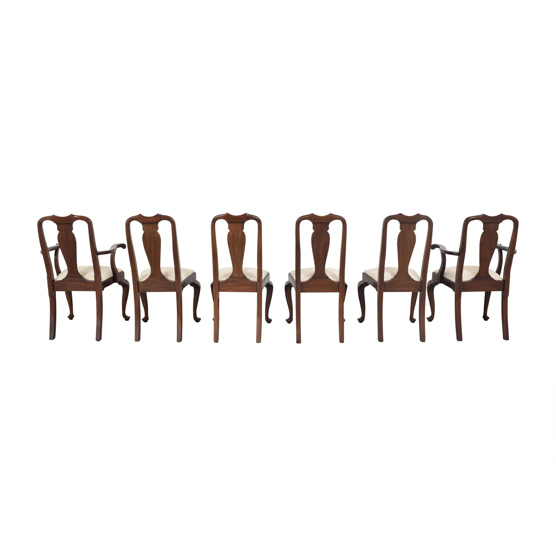 Henkel Harris Henkel Harris Queen Anne Dining Chairs used