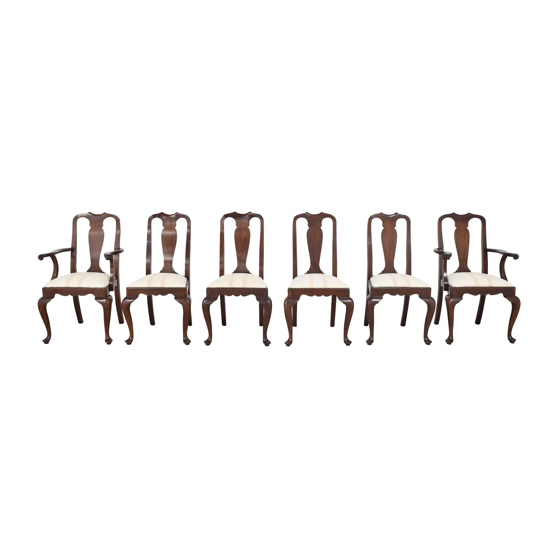 shop Henkel Harris Queen Anne Dining Chairs Henkel Harris Chairs