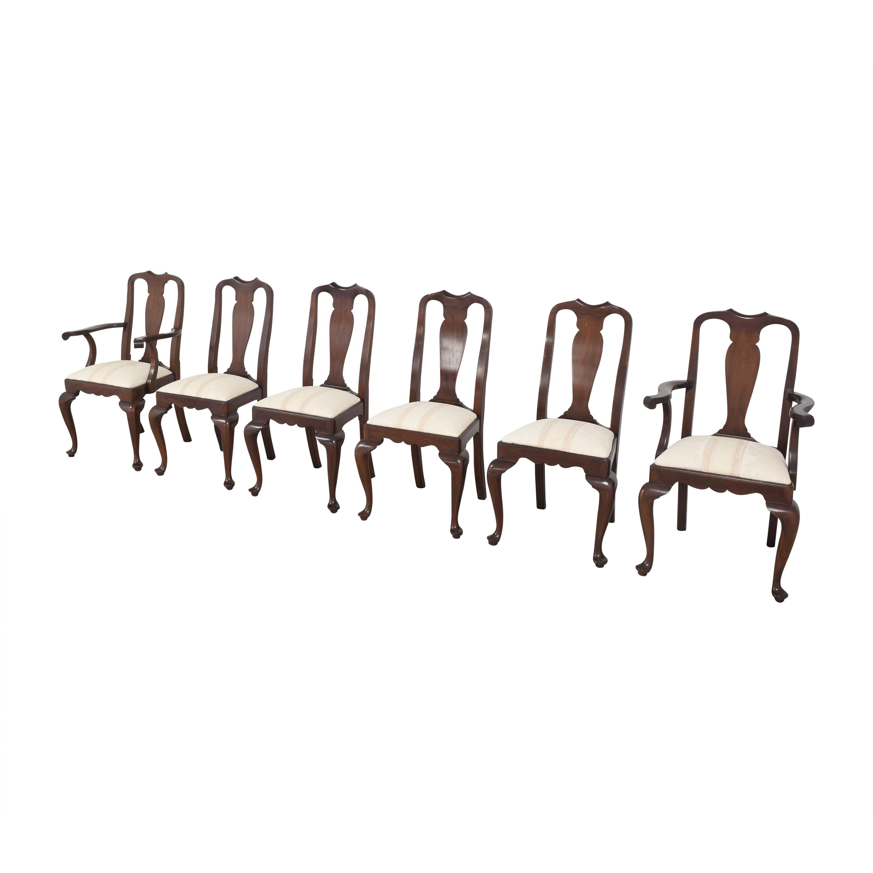 buy Henkel Harris Queen Anne Dining Chairs Henkel Harris Chairs