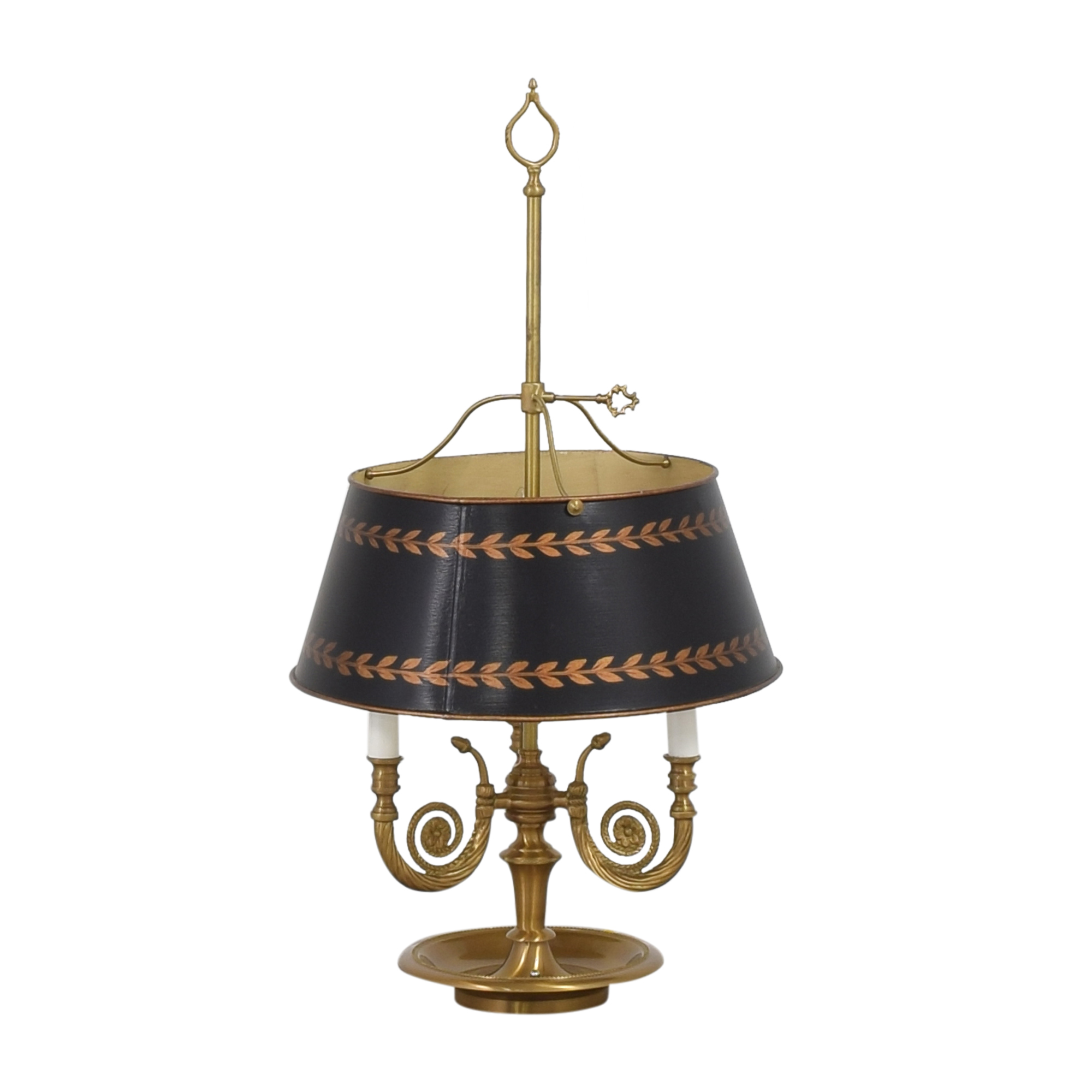 Vintage Triple Table Lamp with Adjustable Shade price
