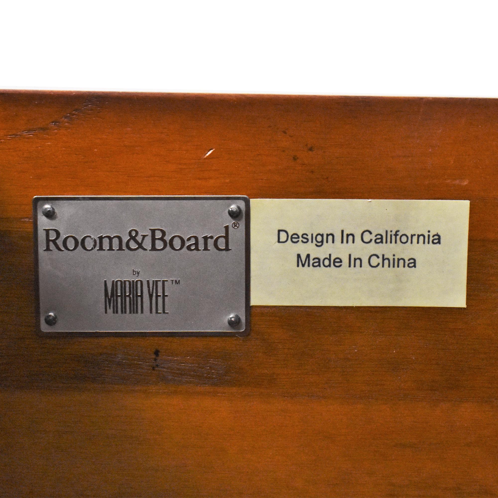 Room & Board Room & Board Maria Yee Media Console used