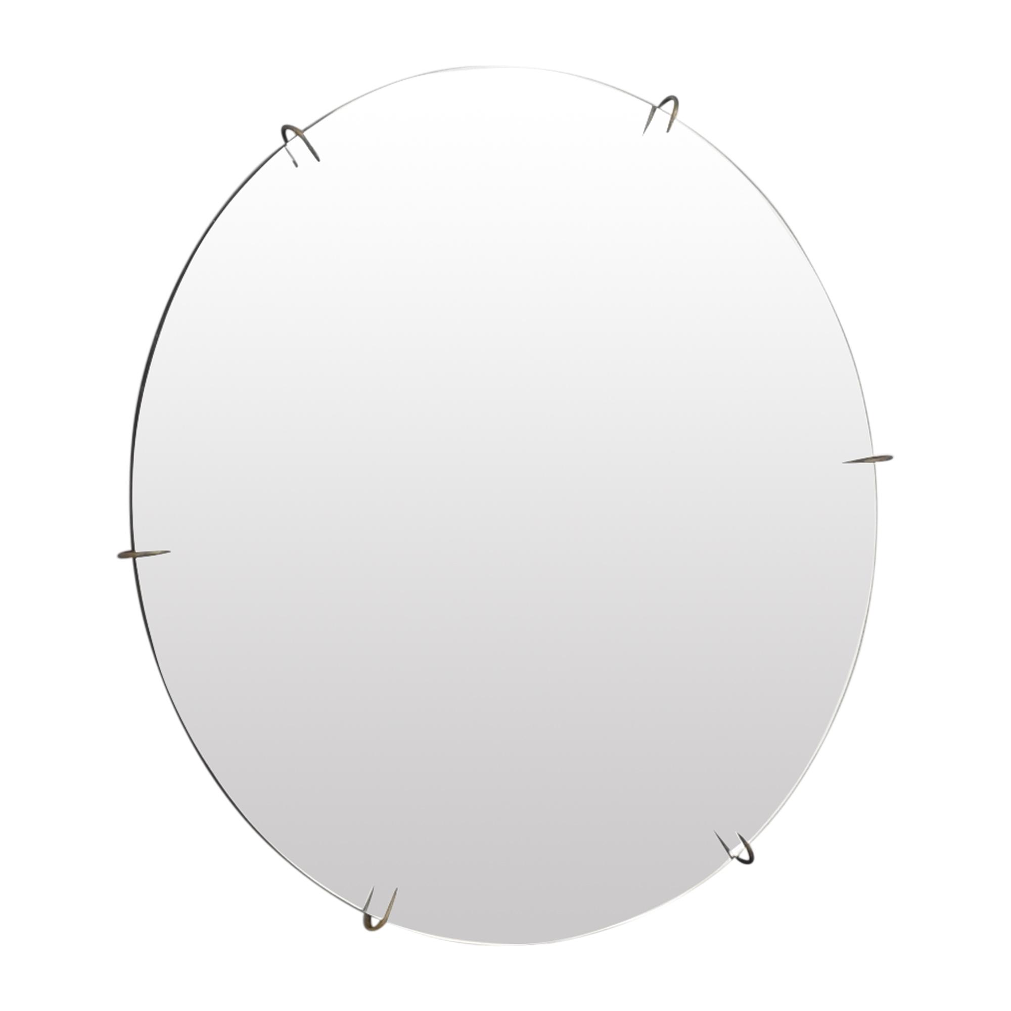 CB2 CB2 Hawk Round Mirror for sale