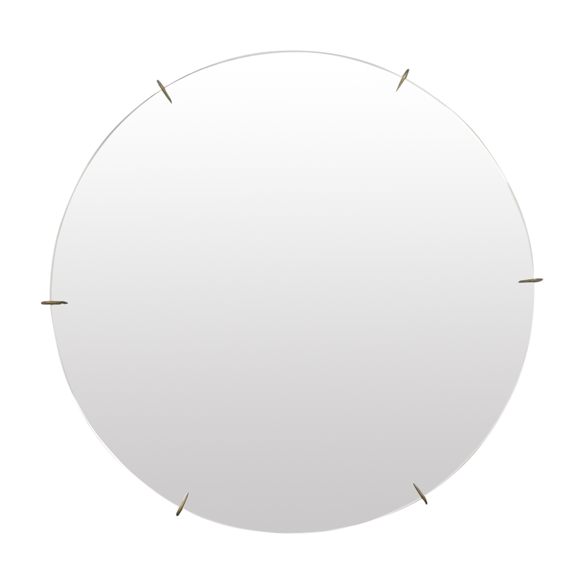 CB2 CB2 Hawk Round Mirror Decor