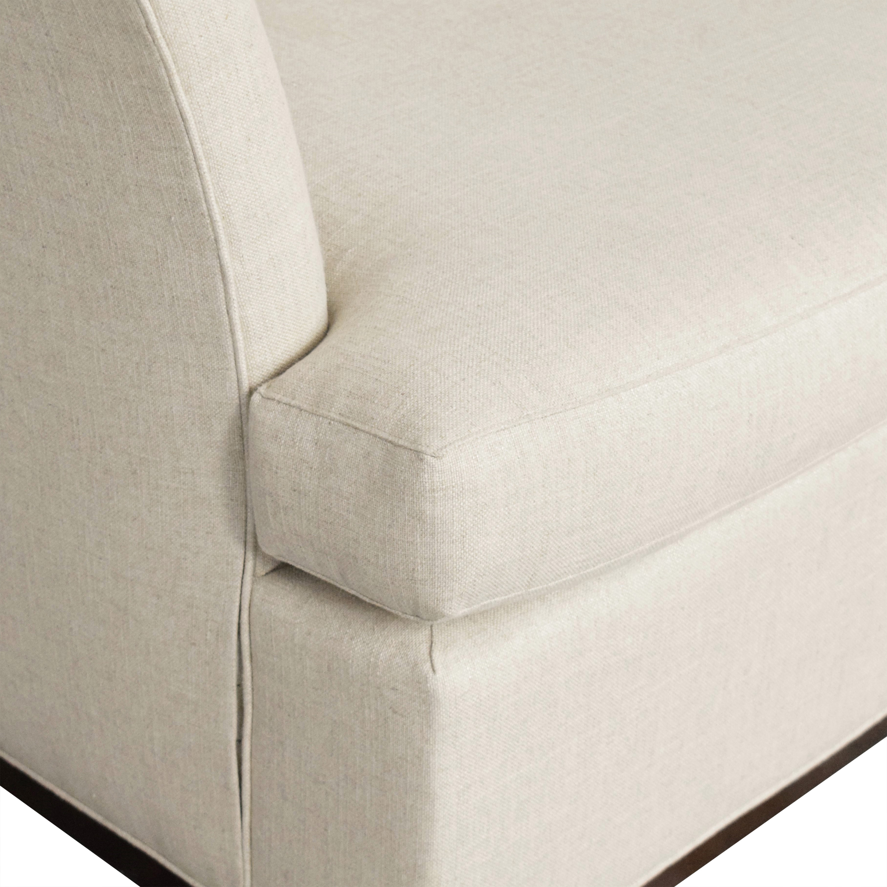 Vanguard Furniture Millington Chaise by Micheal Weiss sale