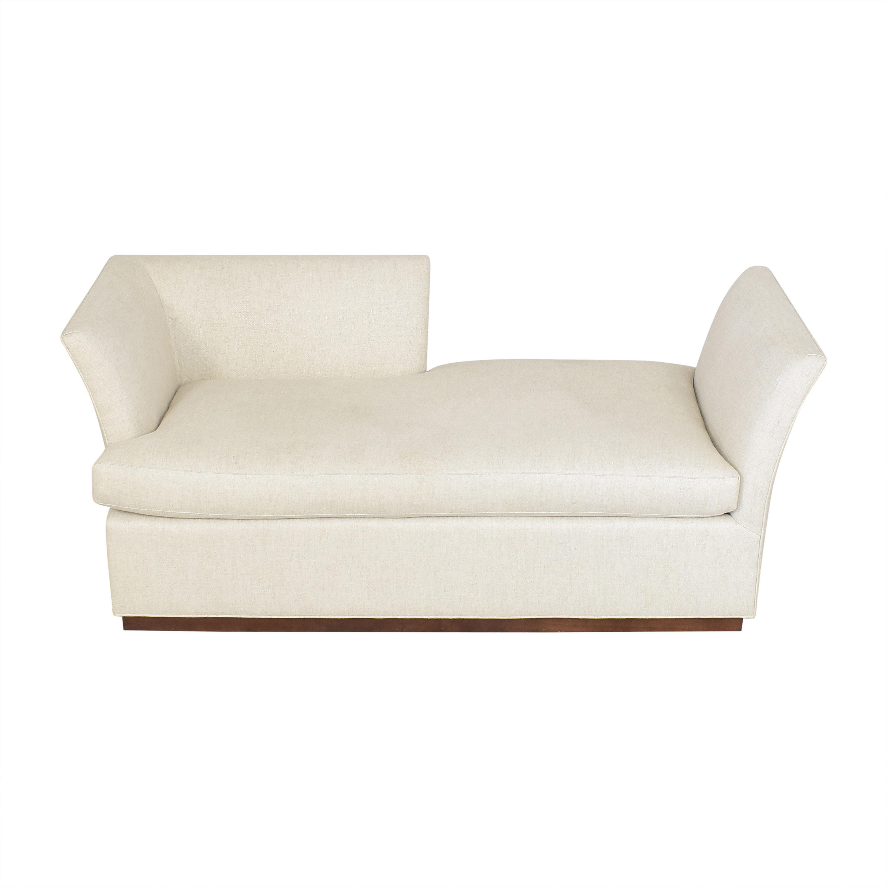 Vanguard Furniture Vanguard Furniture Millington Chaise by Micheal Weiss for sale