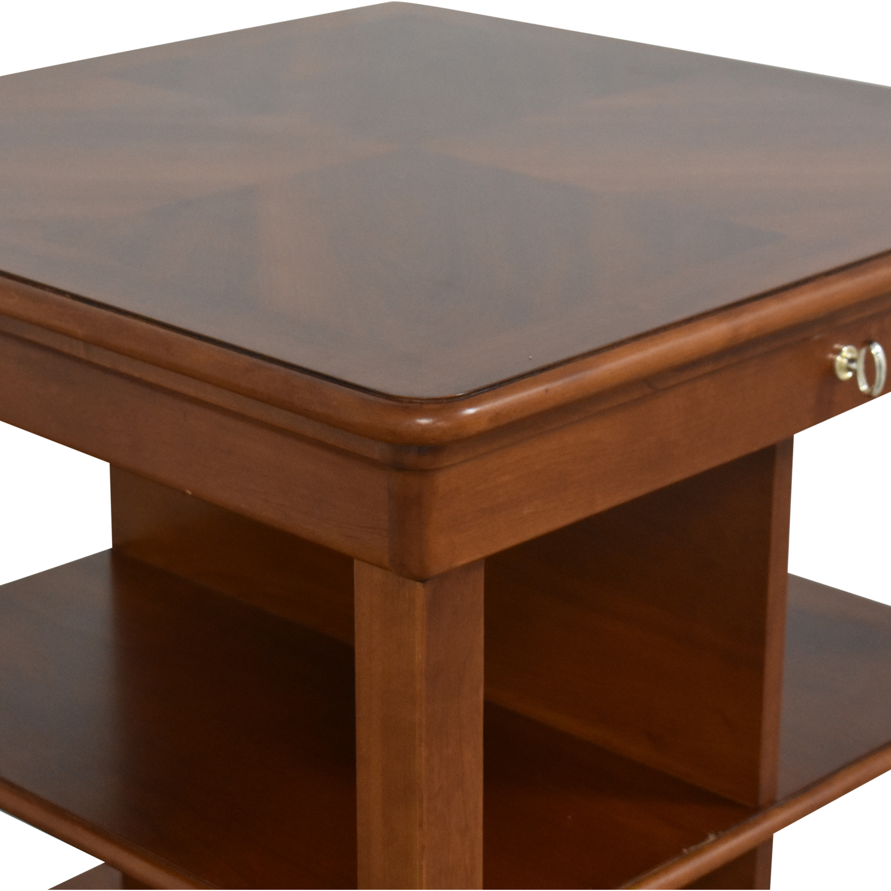 shop Stanley Furniture Bookcase End Table Stanley Furniture End Tables