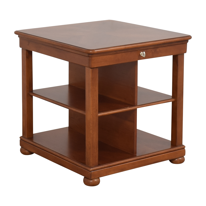 shop Stanley Furniture Bookcase End Table Stanley Furniture