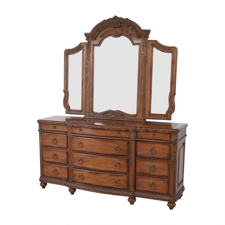 Laura Ashley Laura Ashley Home Triple Dresser and Mirror Dressers