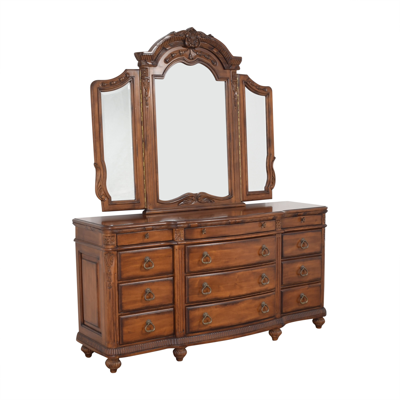 buy Laura Ashley Home Triple Dresser and Mirror Laura Ashley