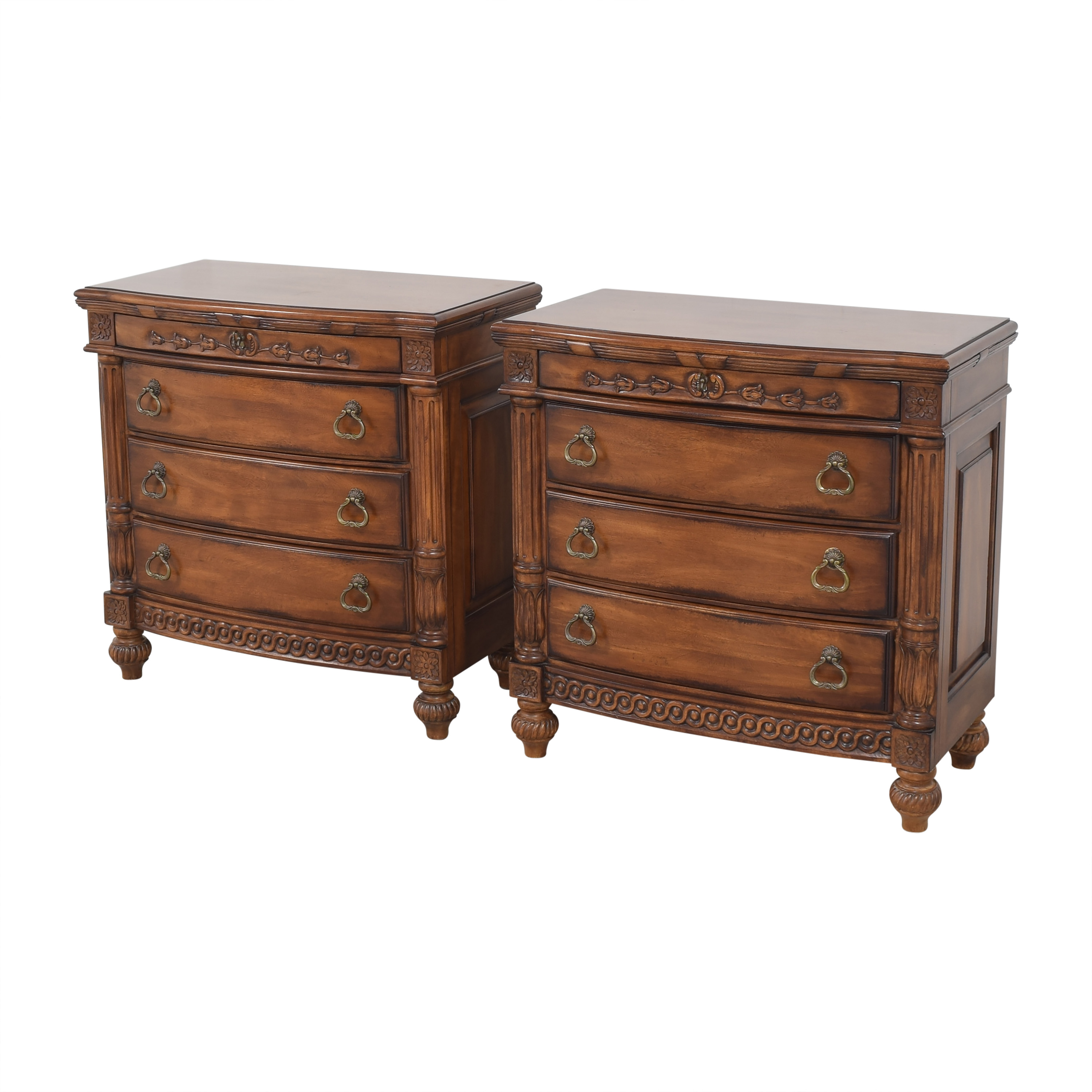Laura Ashley Four Drawer Nightstands / Tables
