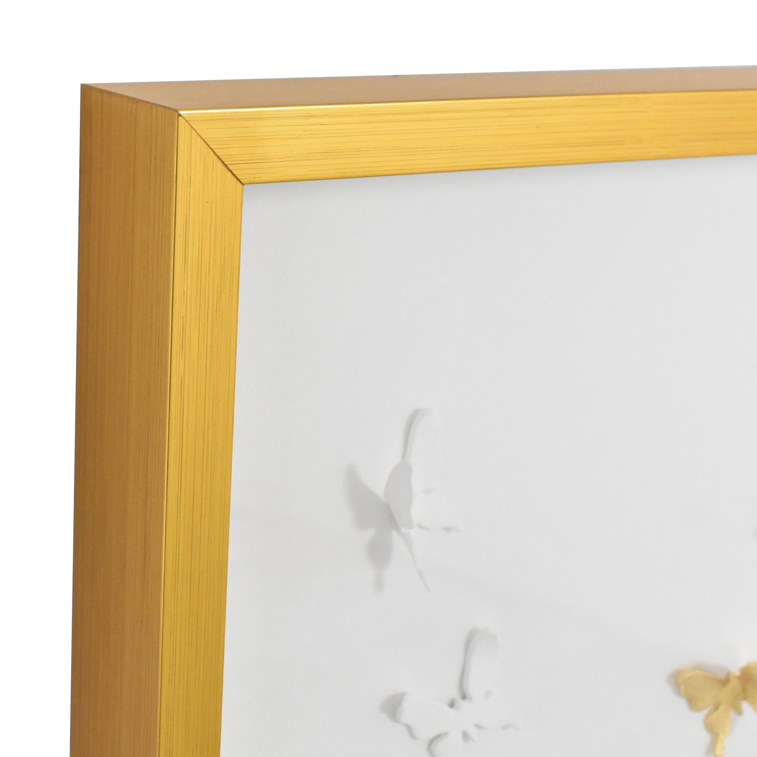 buy Modsy Framed Golden Butterfly III Wall Art Modsy Decor