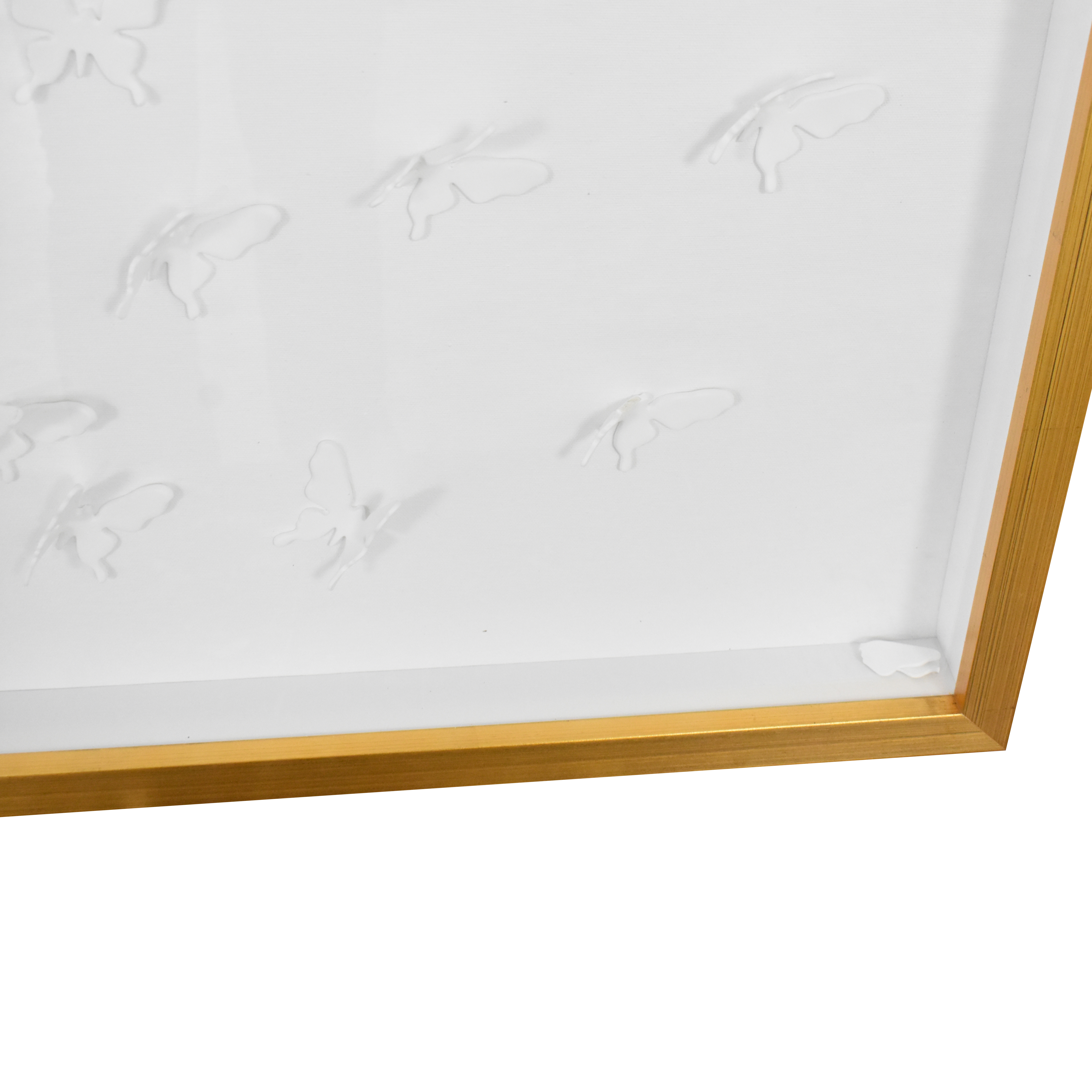 Modsy Modsy Framed Golden Butterfly III Wall Art price