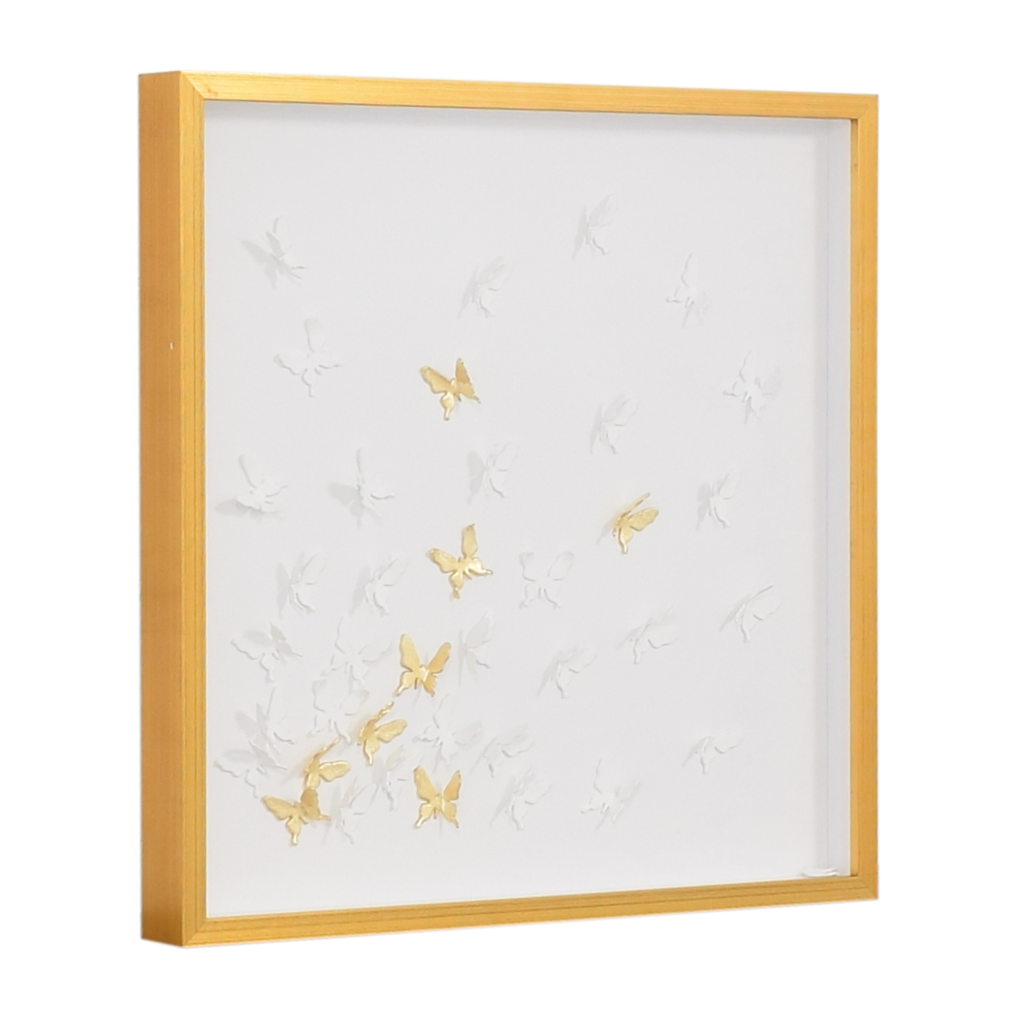 Modsy Modsy Framed Golden Butterfly III Wall Art nyc