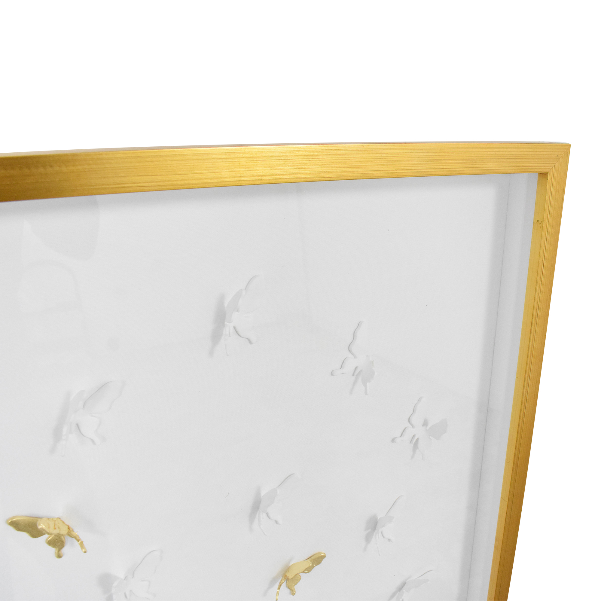 Modsy Modsy Framed Golden Butterfly III Wall Art Wall Art