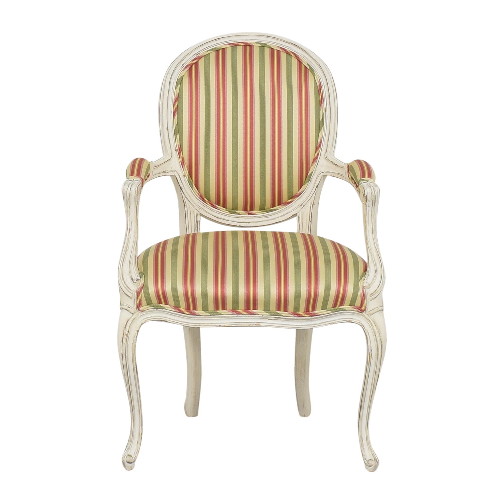 Pearson Queen Anne Striped Chair / Accent Chairs