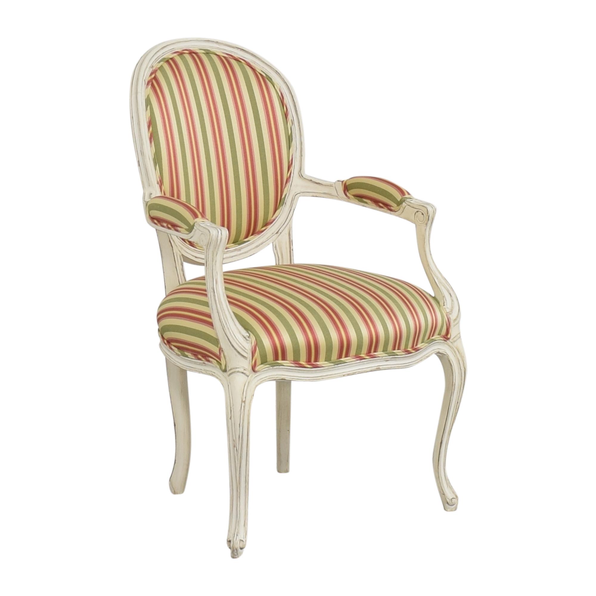 Pearson Pearson Queen Anne Striped Chair used