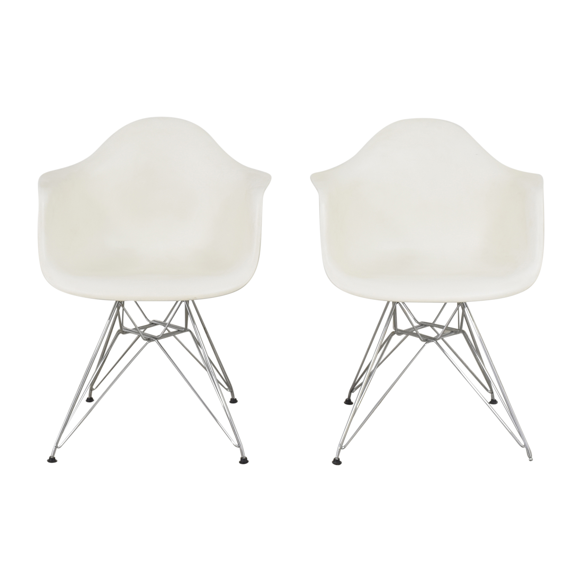 shop Herman Miller Eames Molded Arm Chairs Herman Miller Chairs