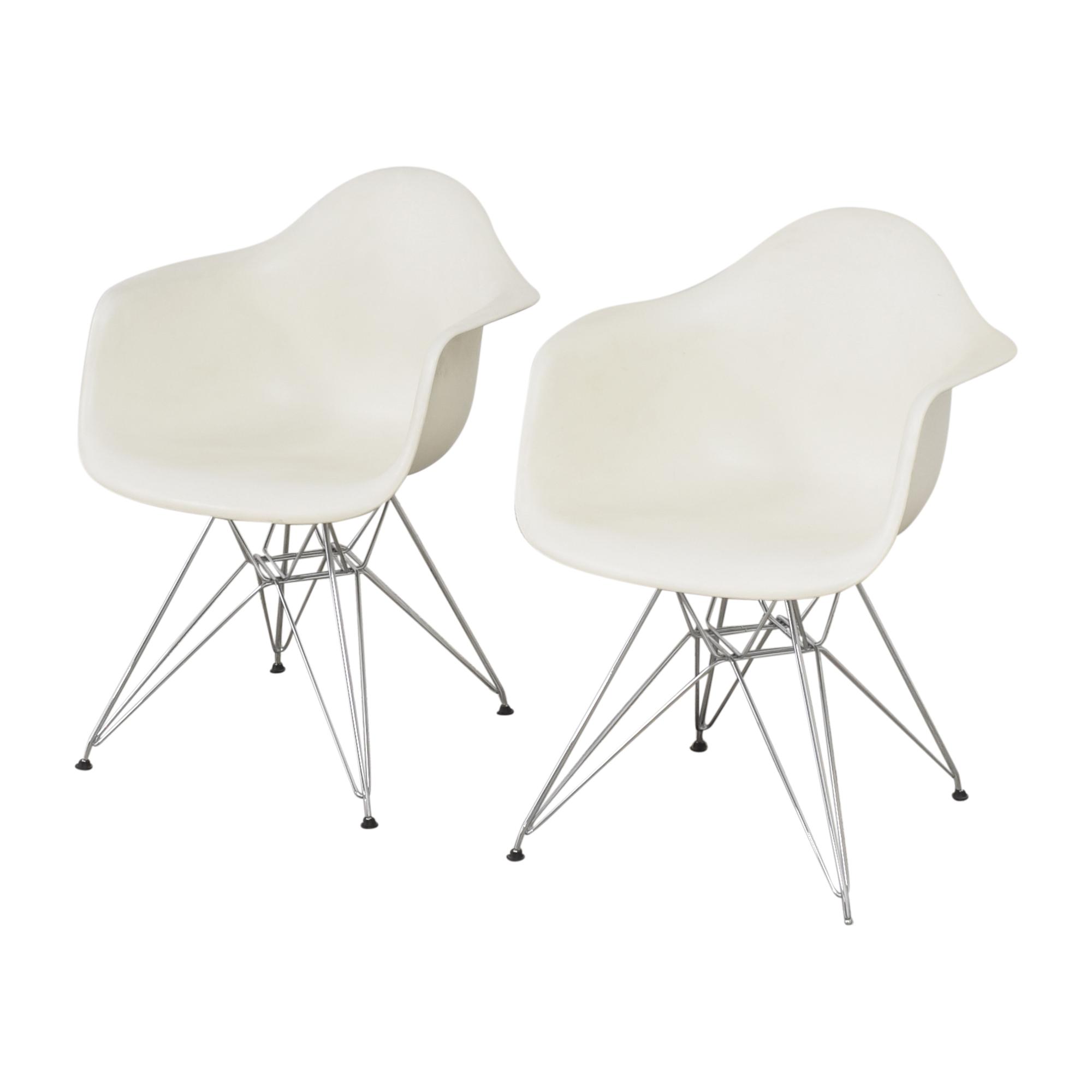 buy Herman Miller Eames Molded Arm Chairs Herman Miller