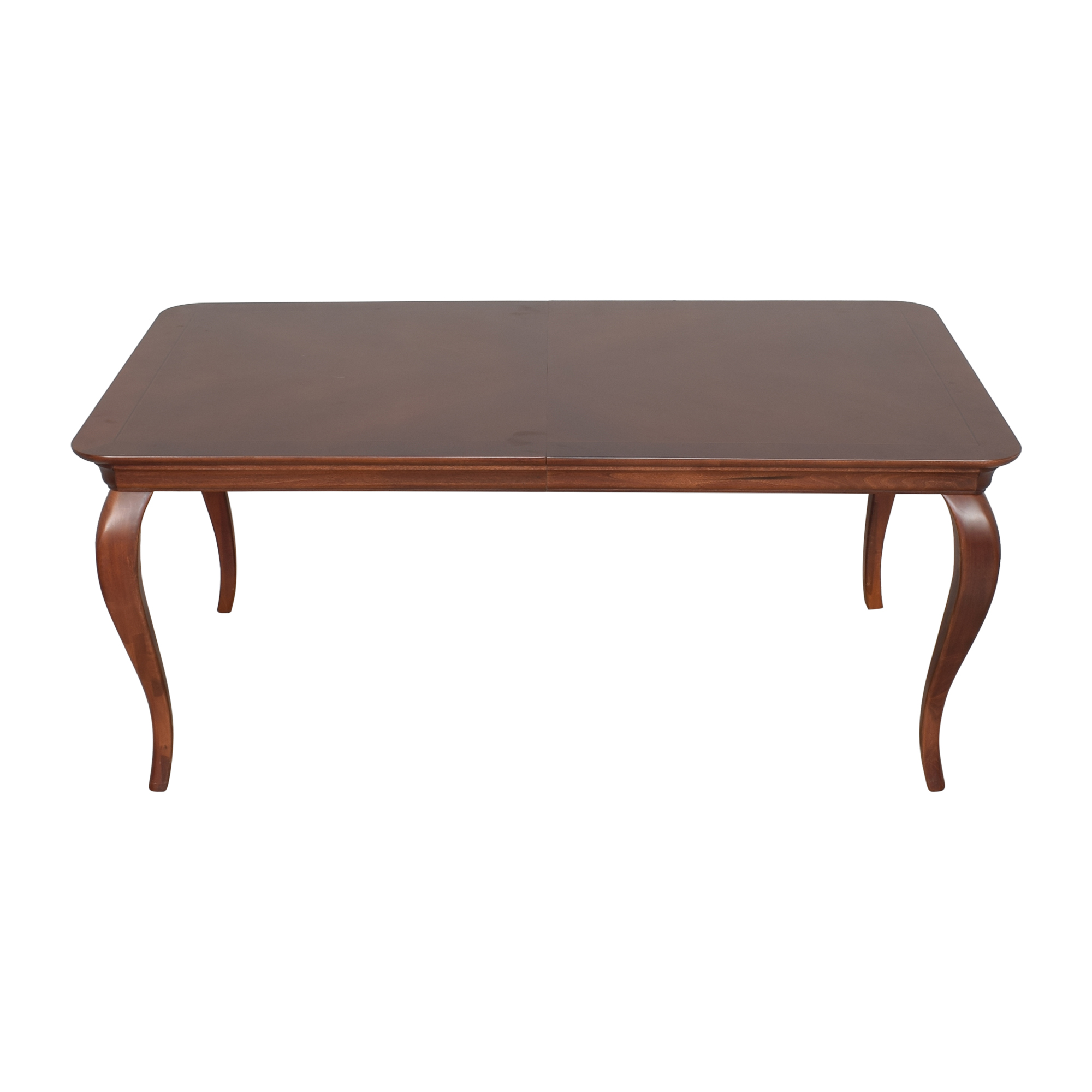 Thomasville Thomasville Extendable Cabriole Dining Table dimensions