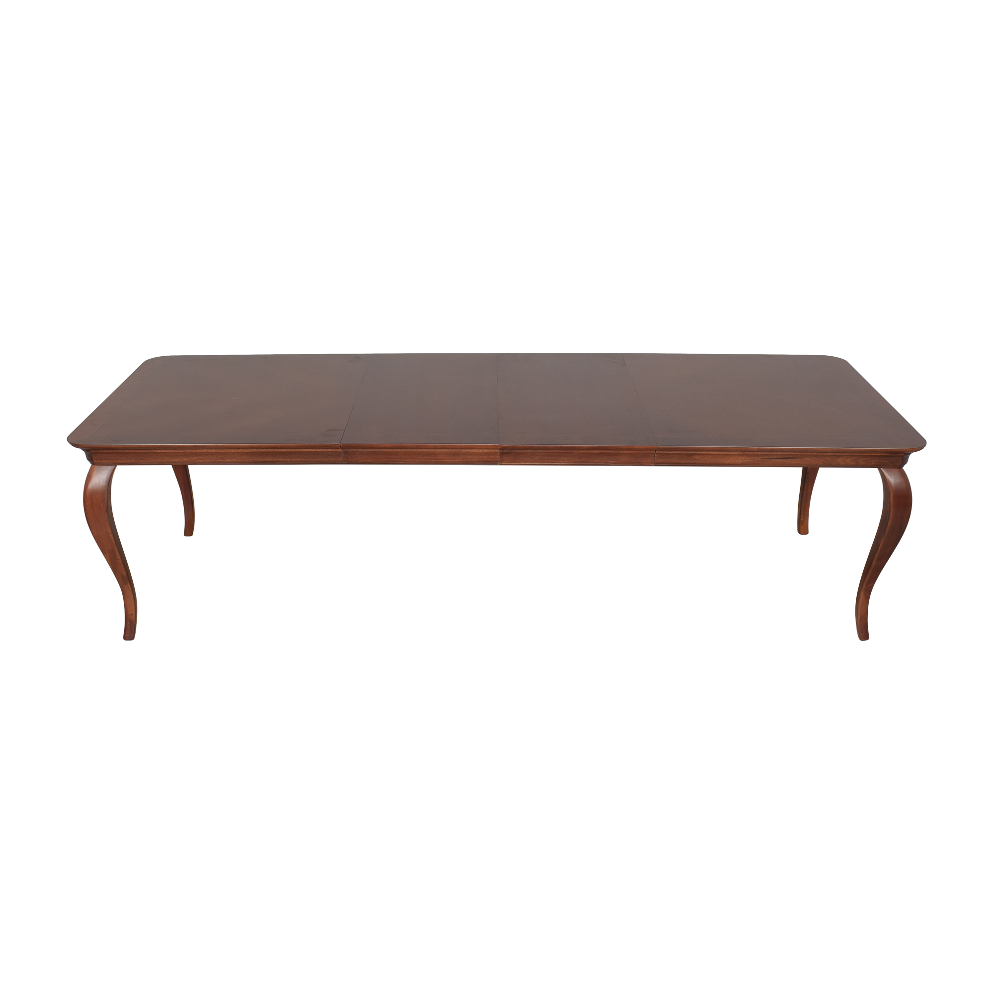 buy Thomasville Extendable Cabriole Dining Table Thomasville