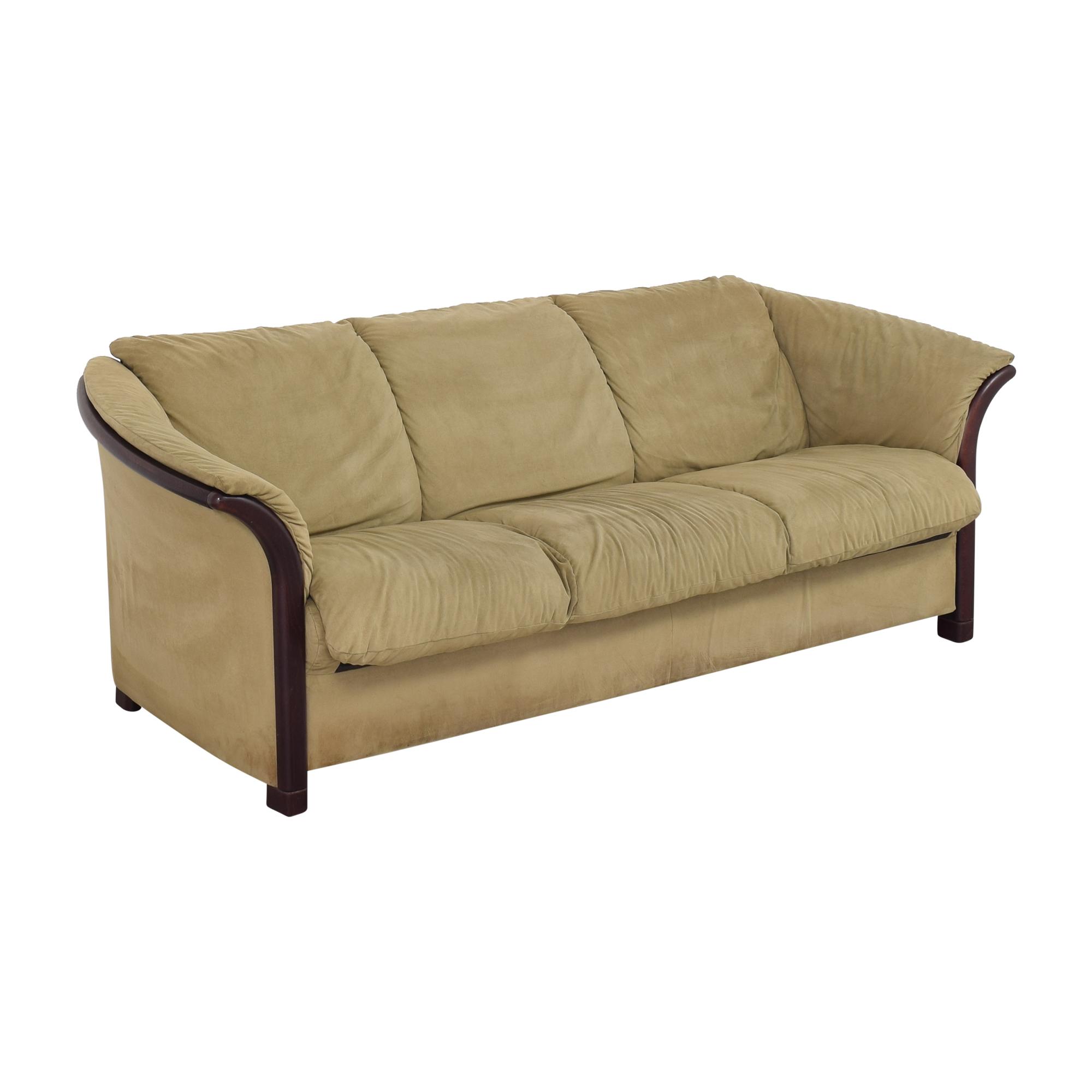shop Ekornes Ekornes Manhattan Three Seat Sofa online