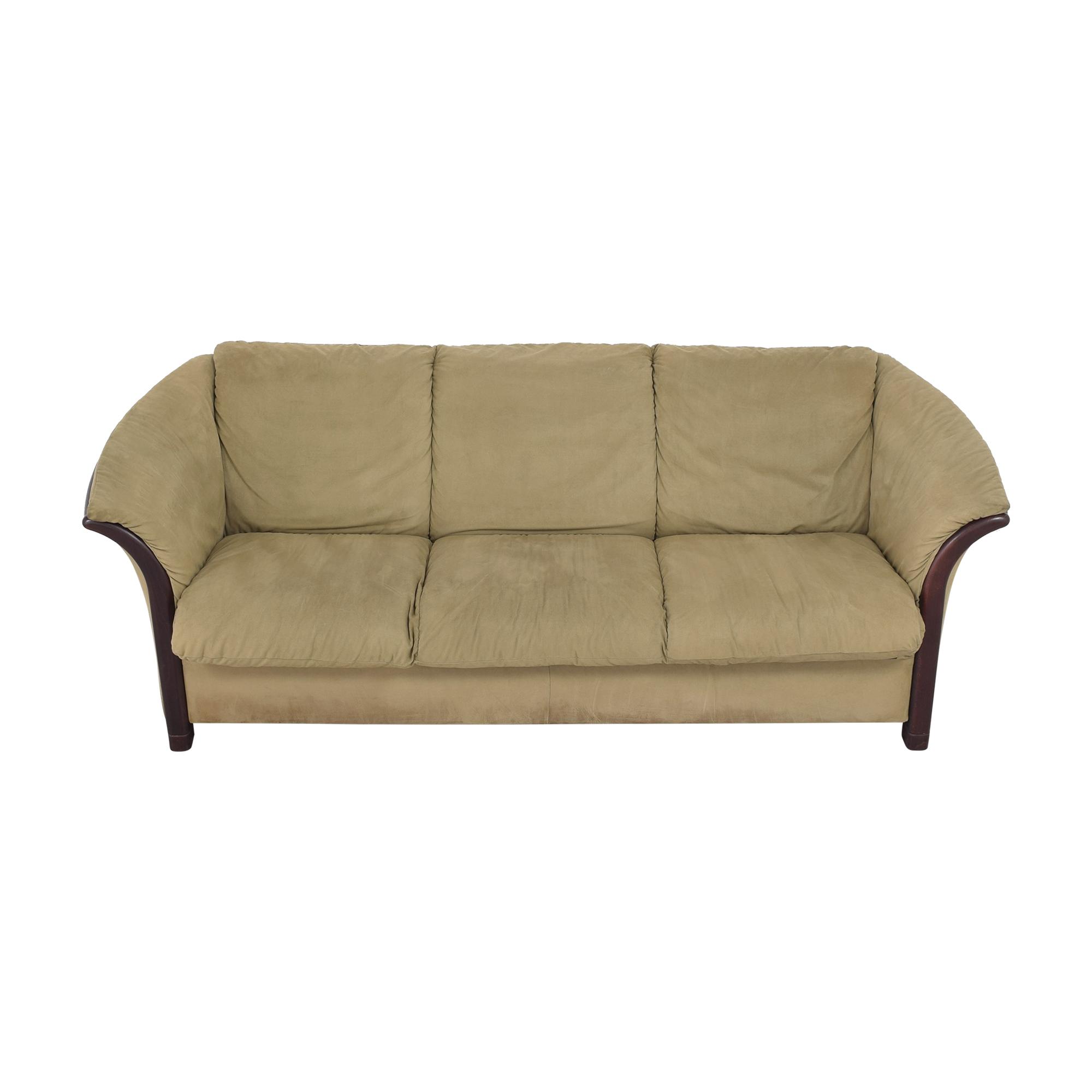 Ekornes Ekornes Manhattan Three Seat Sofa Classic Sofas