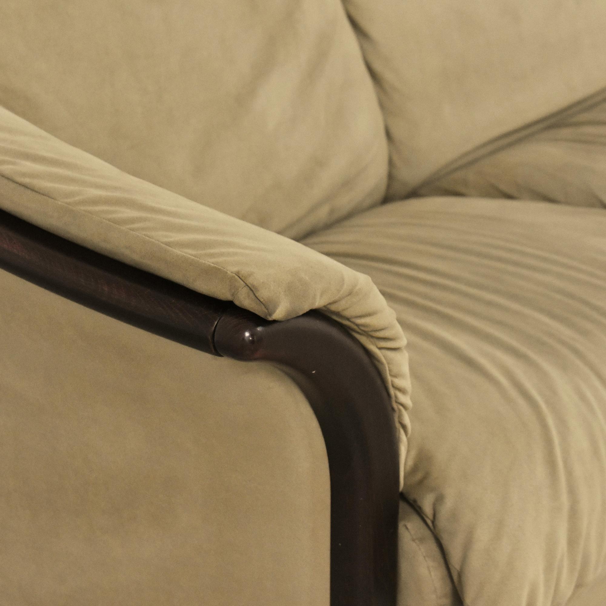 Ekornes Ekornes Manhattan Three Seat Sofa nj