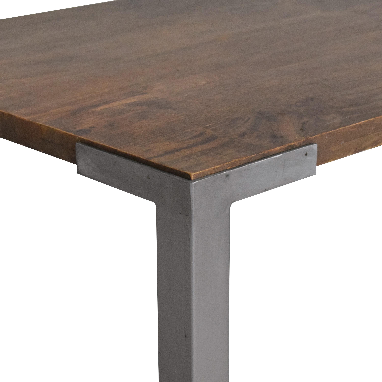 CB2 CB2 Stilt High Dining Table on sale