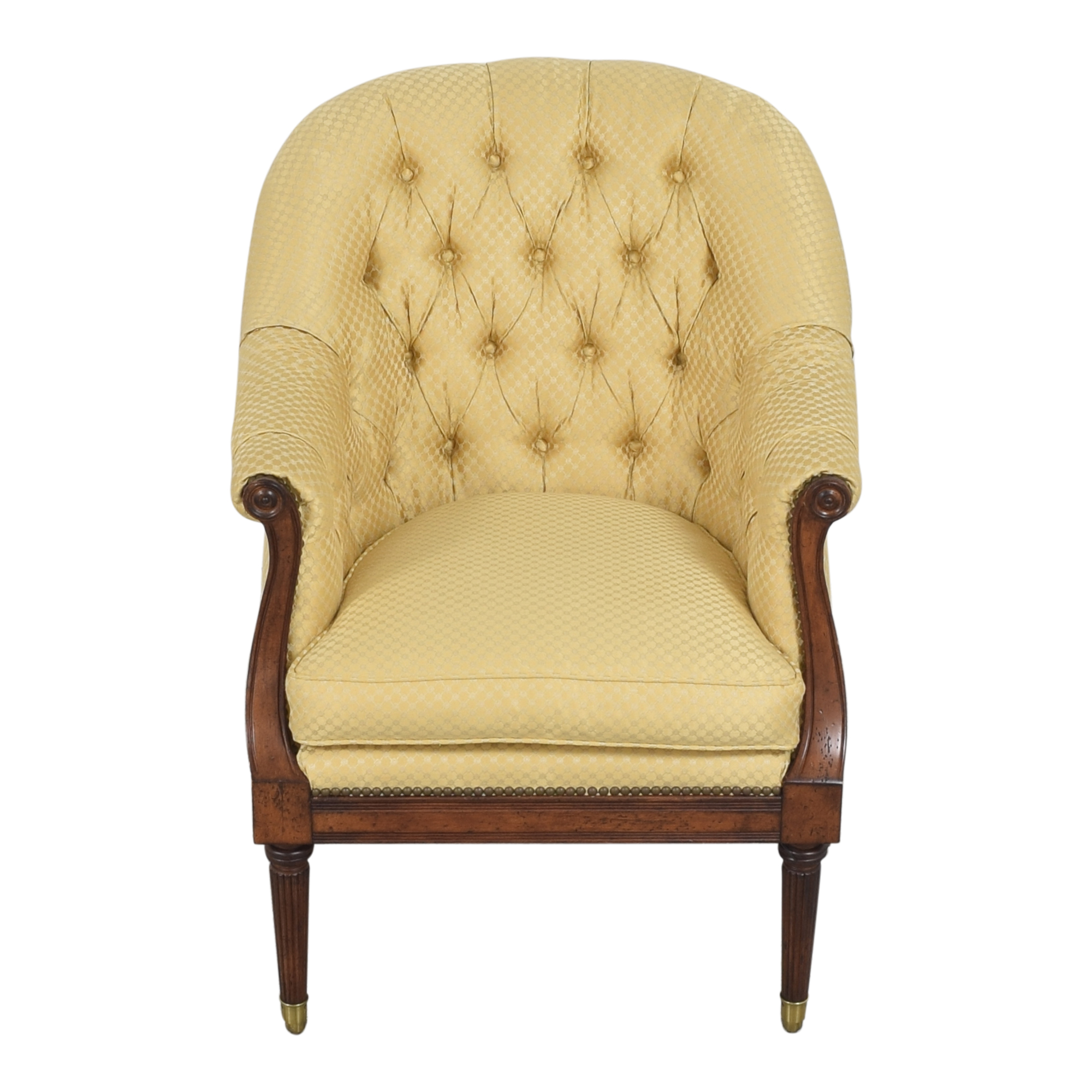 buy Lillian August Tufted Armchair Lillian August Accent Chairs