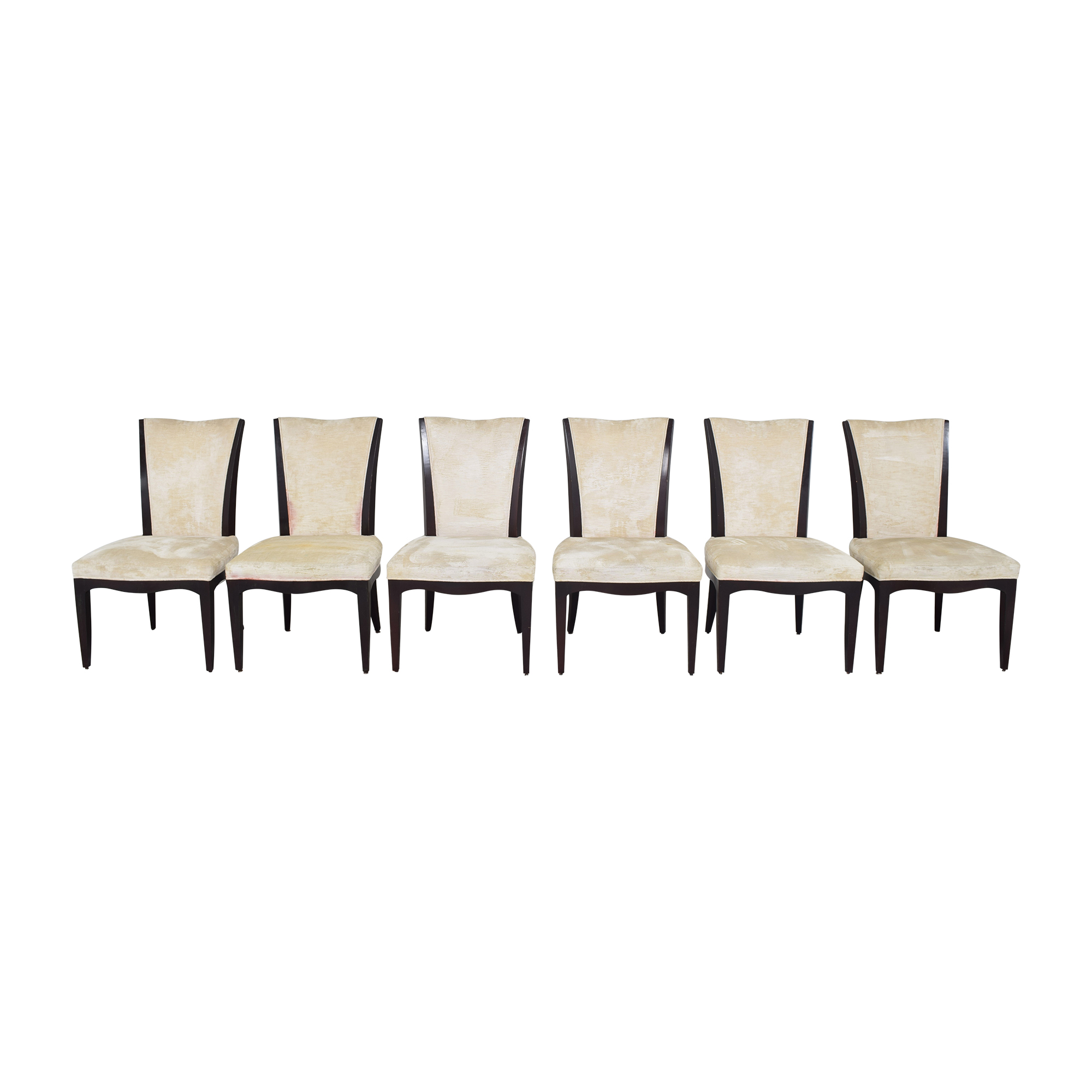 Baker Furniture Baker Furniture Barbara Barry Upholstered Dining Side Chairs nyc