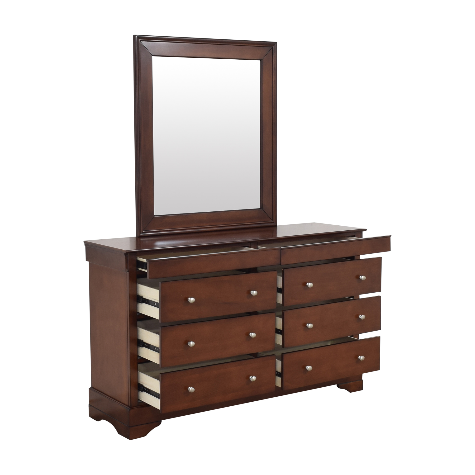 buy Lifestyle Solutions Double Dresser with Mirror Lifestyle Solutions Storage