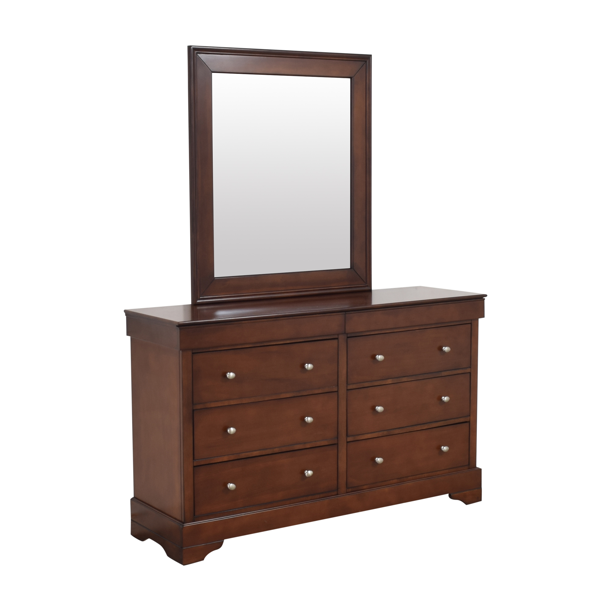 Lifestyle Solutions Lifestyle Solutions Double Dresser with Mirror nyc