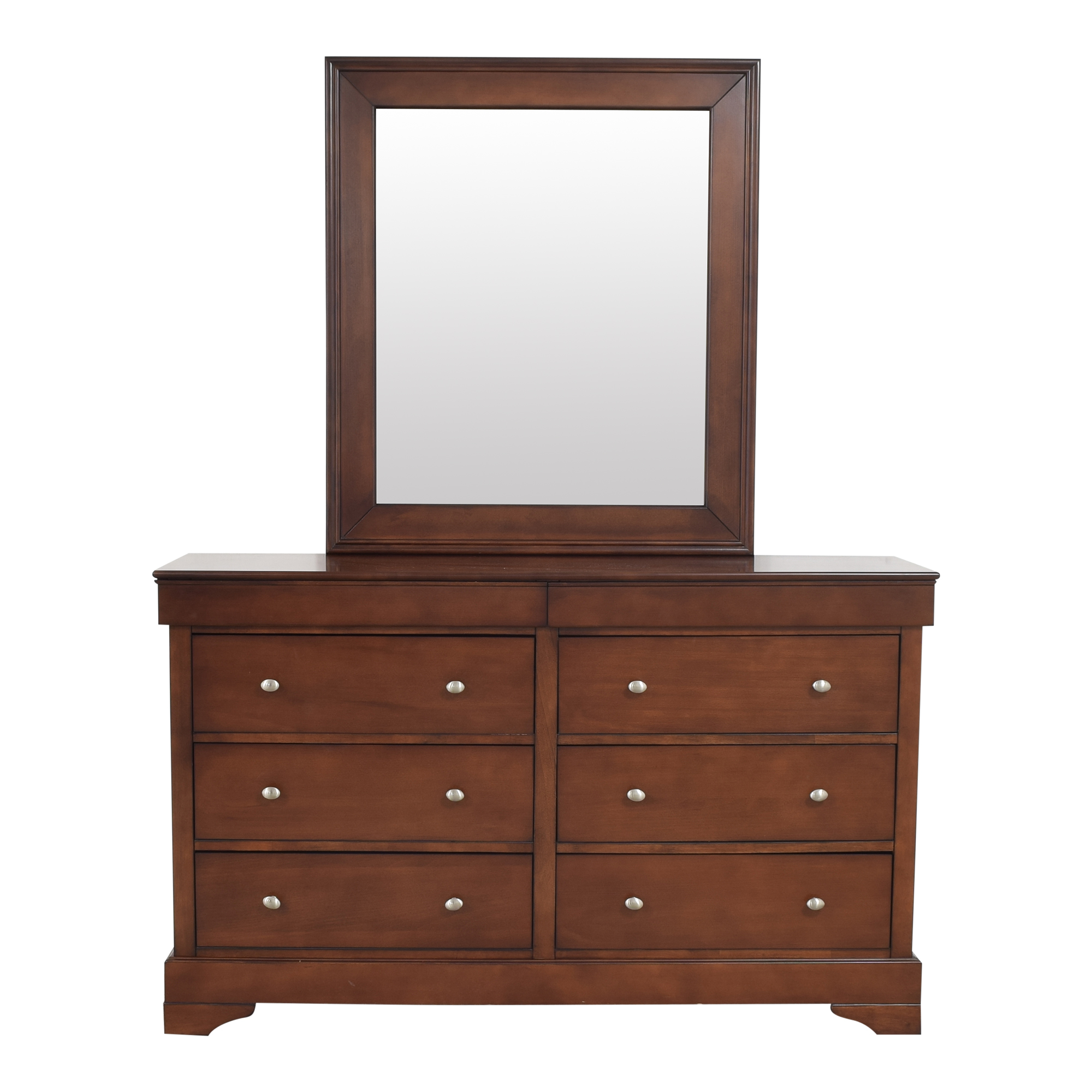 shop Lifestyle Solutions Lifestyle Solutions Double Dresser with Mirror online