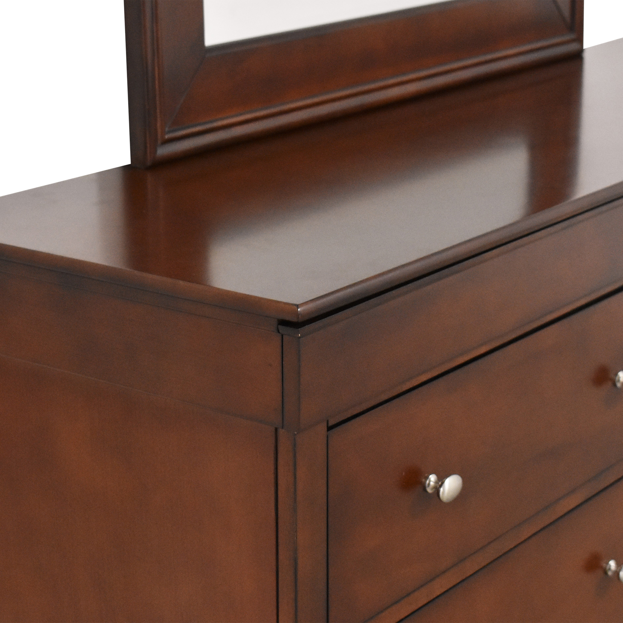 Lifestyle Solutions Double Dresser with Mirror Lifestyle Solutions