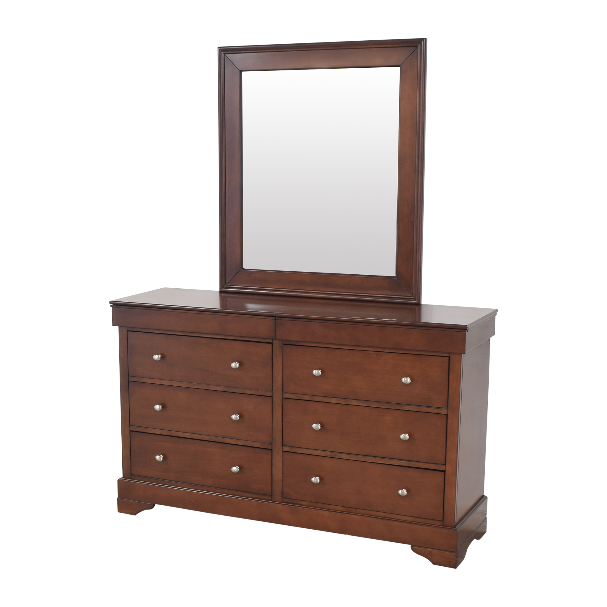 Lifestyle Solutions Lifestyle Solutions Double Dresser with Mirror dimensions